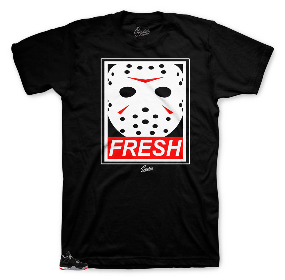 Retro Bred 4s matching sneaker collection online clothing brand