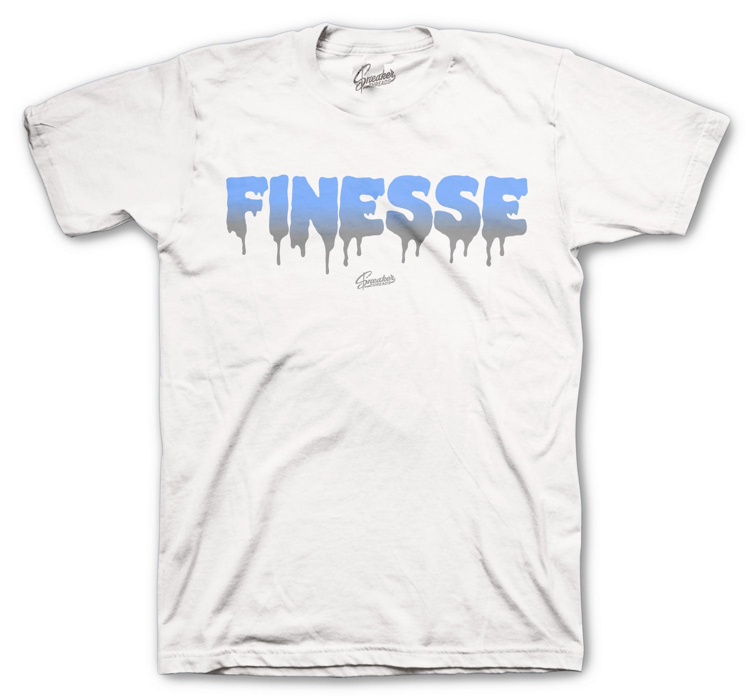 Jordan 3 UNC Shirt - Finesse - White