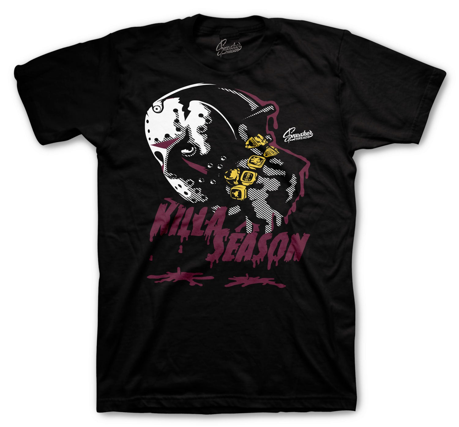Jordan 4 PSG Shirt - Killa Season - Black