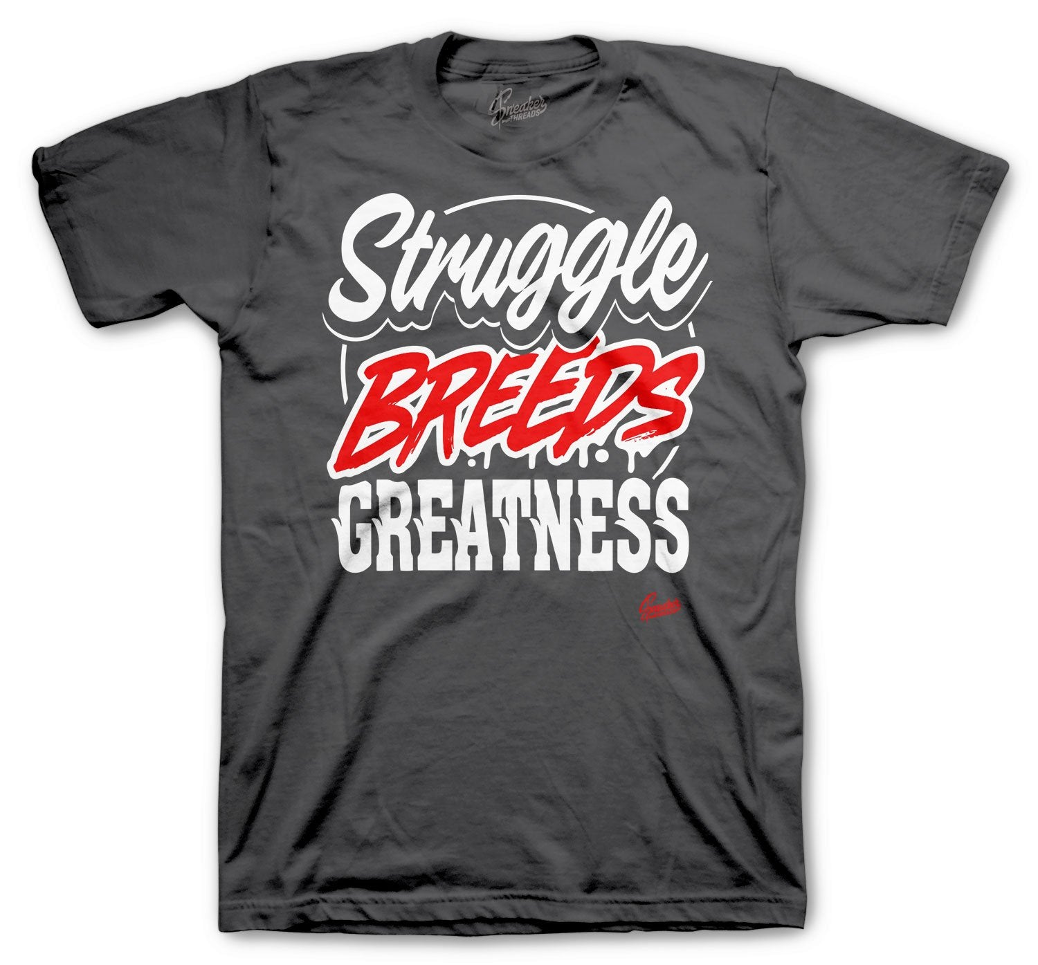 Jordan 12 Dark Grey Struggle Breeds shirt