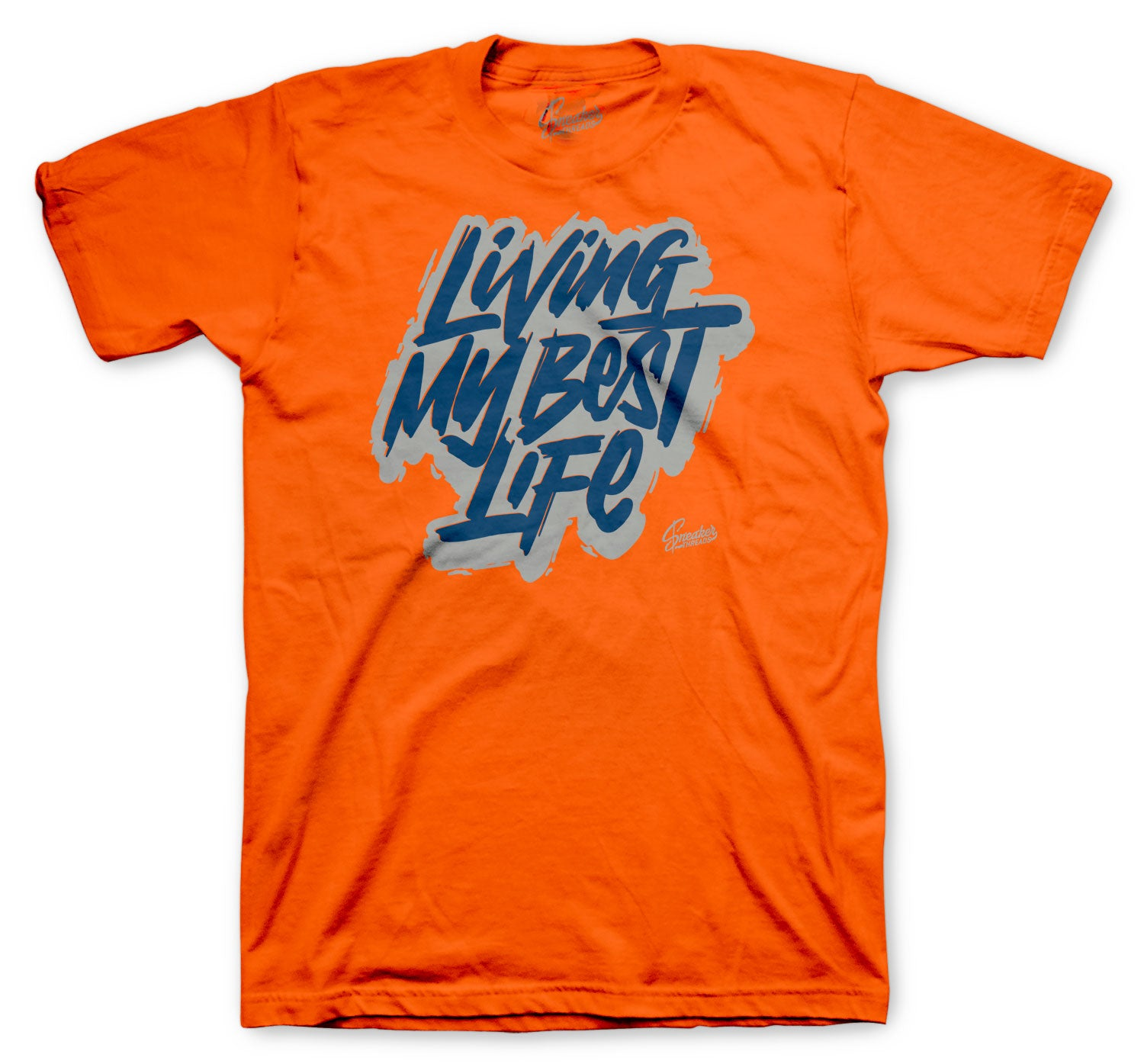 Rugged  Orange Foamposite sneaker collection matching with mens tee collection