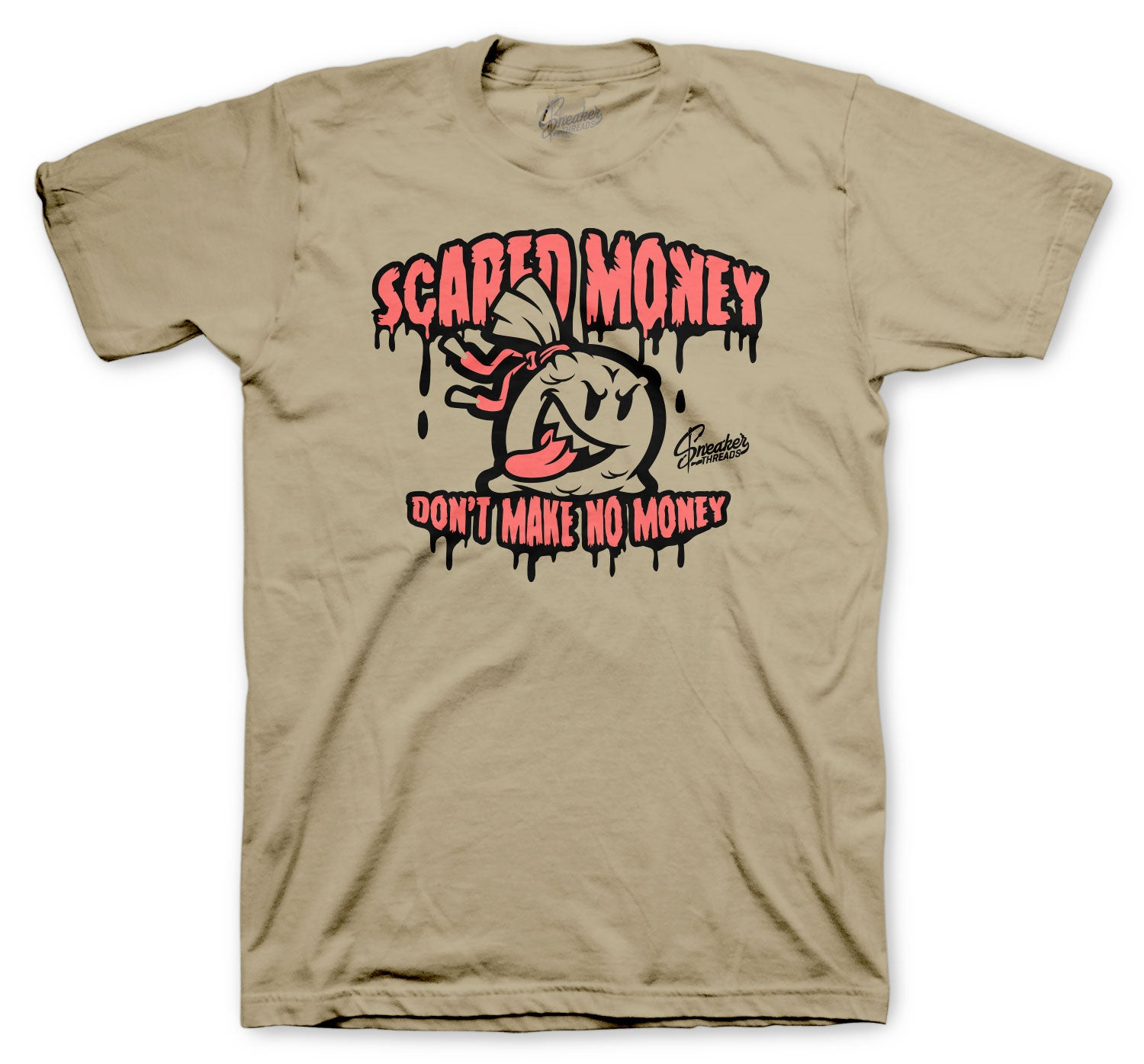 Yeezy Sand Taupe 350 Shirt - Scared Money - Tan