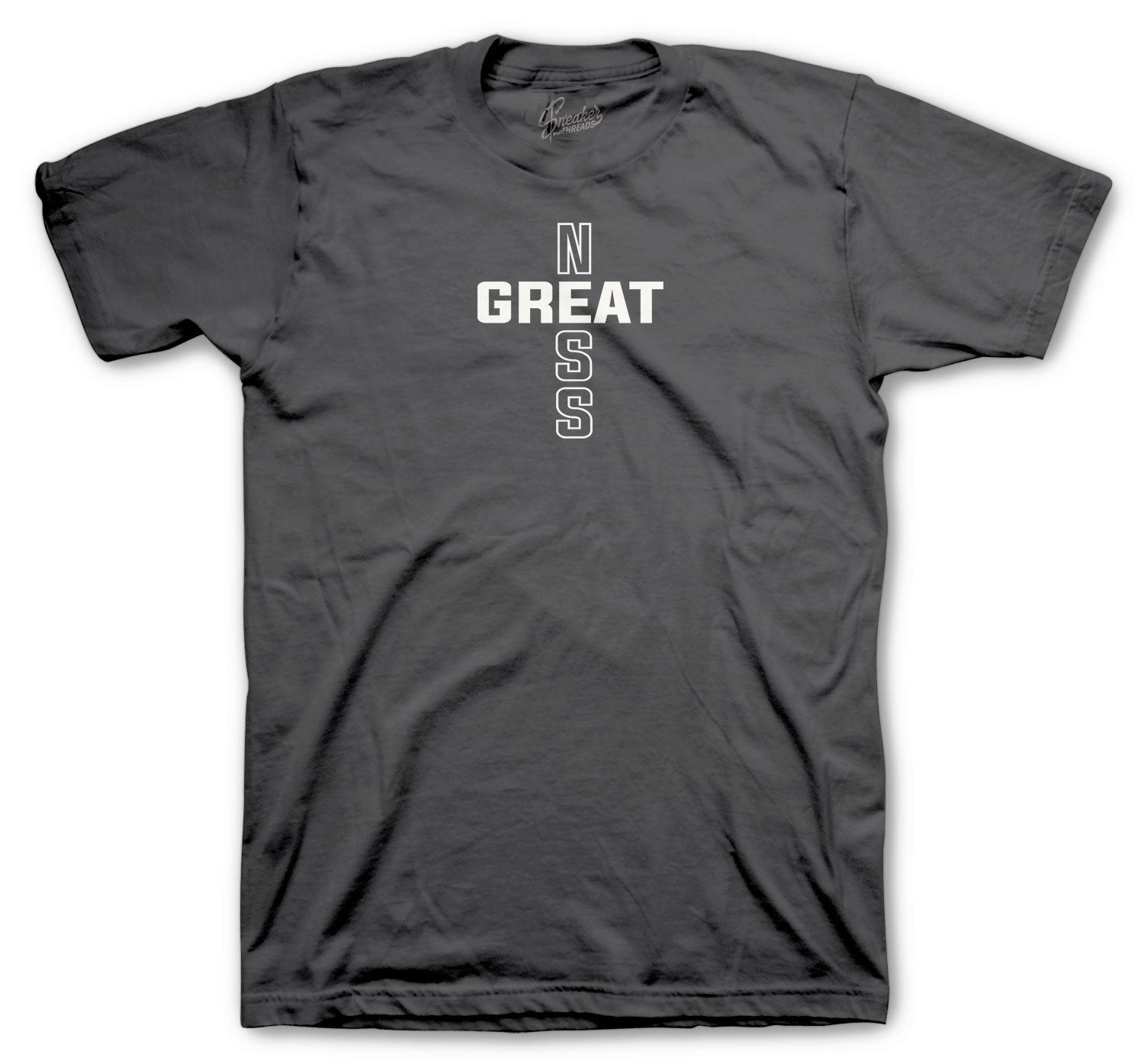 Jordan 12 Dark Grey Greatness Cross shirt