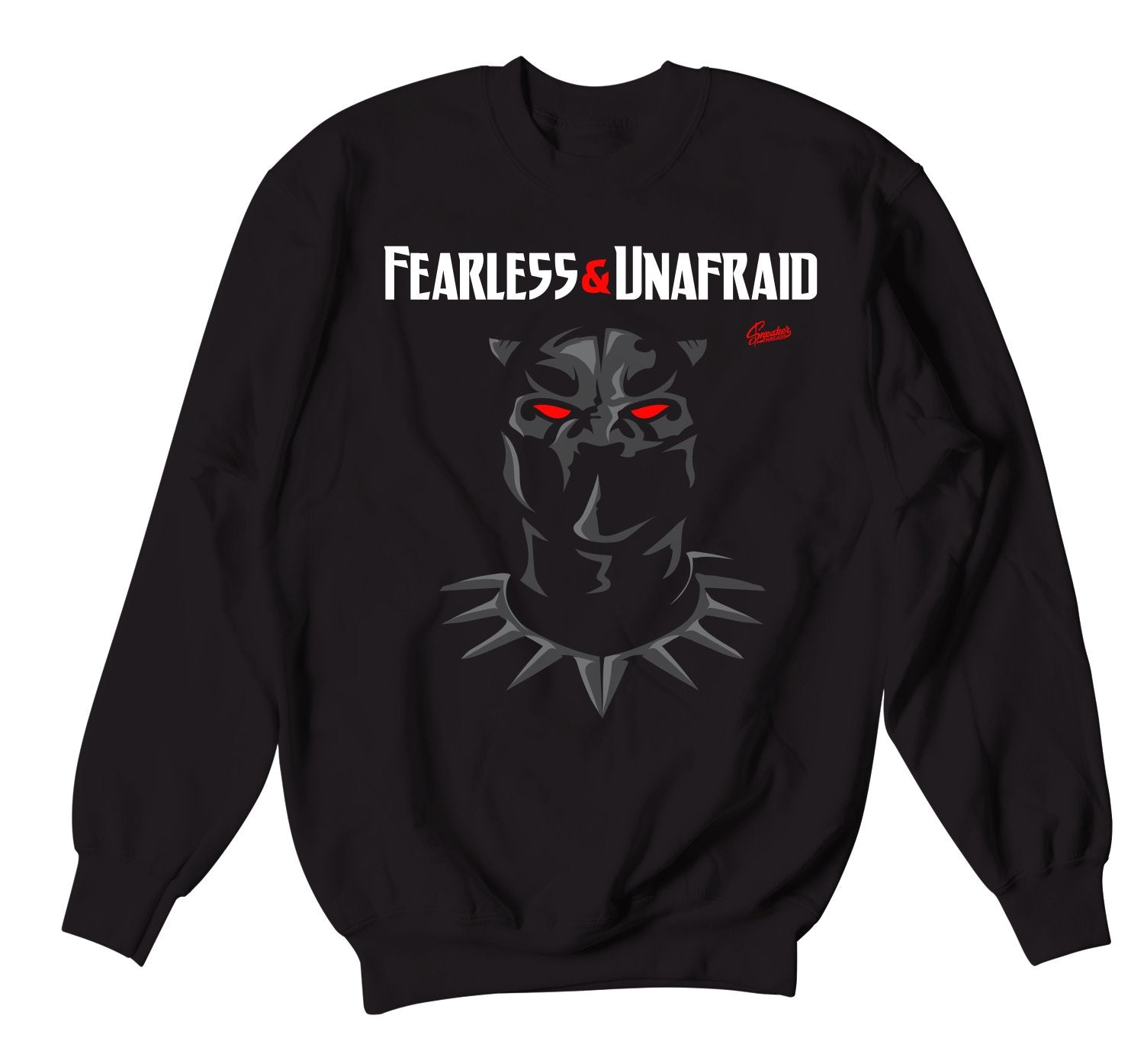 Sweatshirt collection designed to match the Jordan 4 black cat sneakers