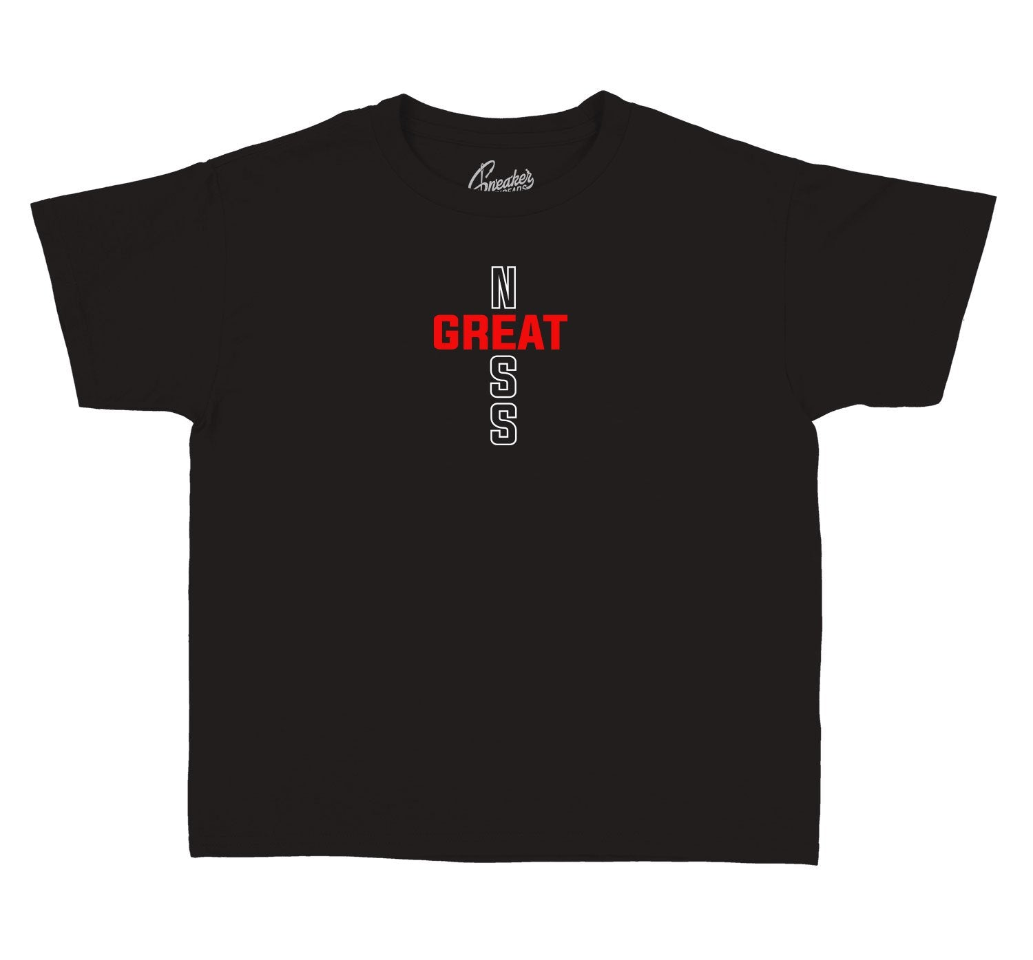 Jordan 11 Bred sneaker collection matching kids shirt collection perfect