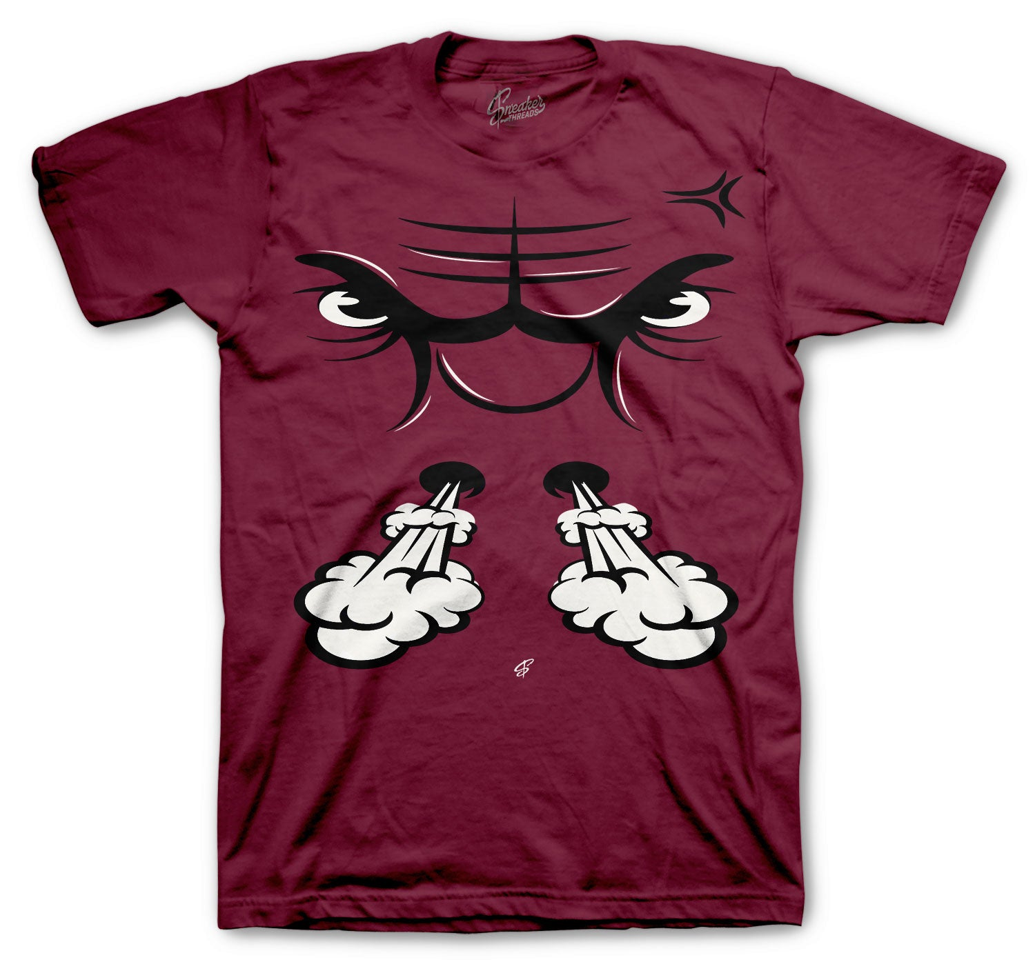 Jordan 8 Burgundy sneaker matching with mens shirts