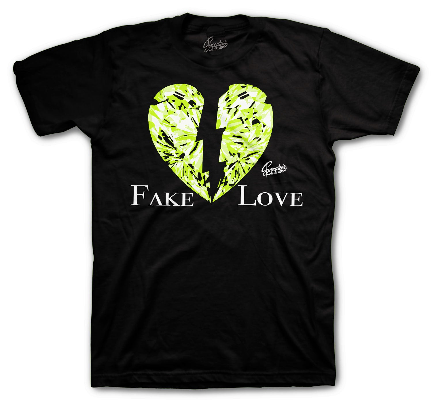 Foamposite Pro Volt Shirt - Fake Love - Black