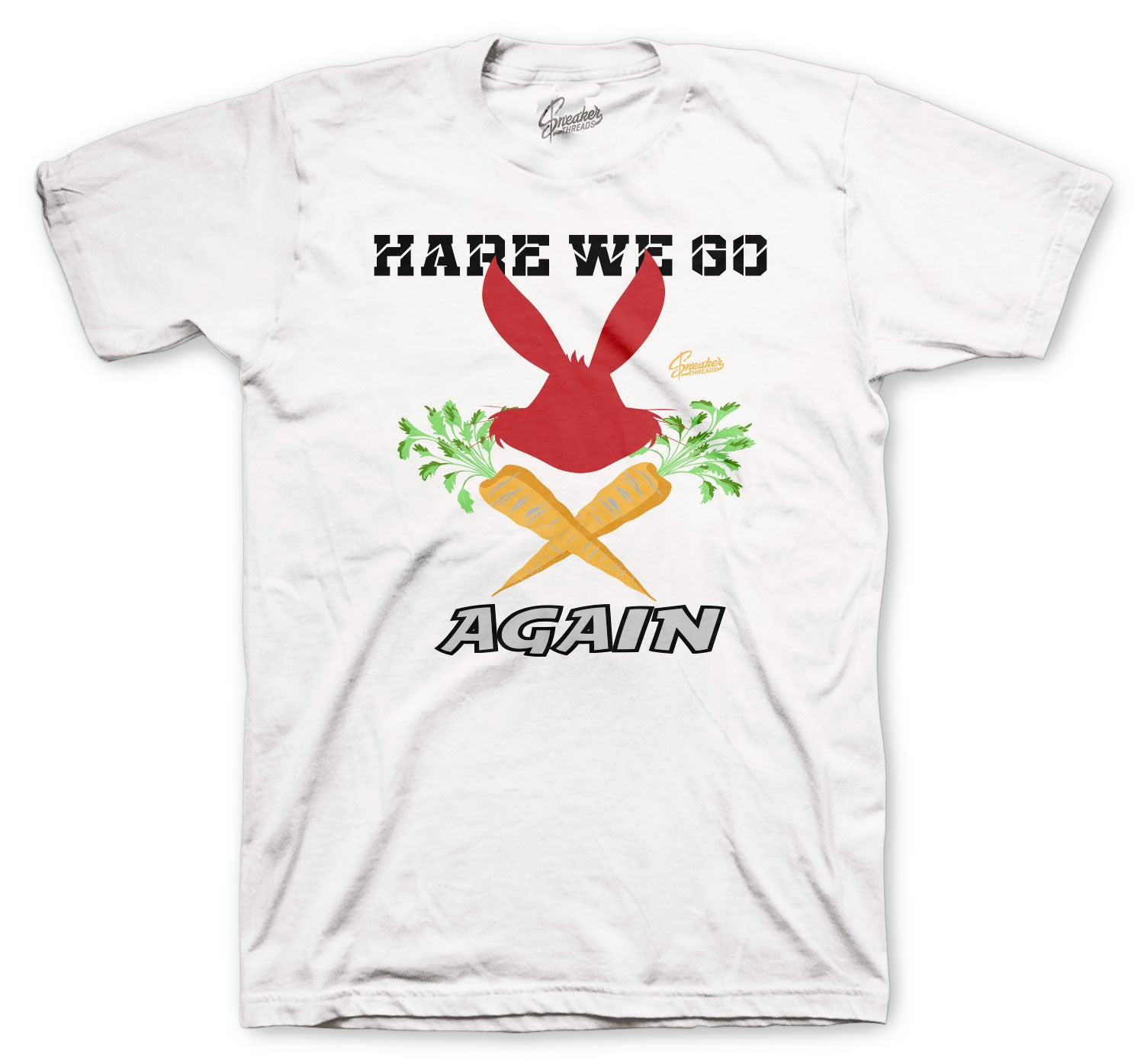 Jordan 6 Hare sneaker collection matches with mens tee collection perfectly
