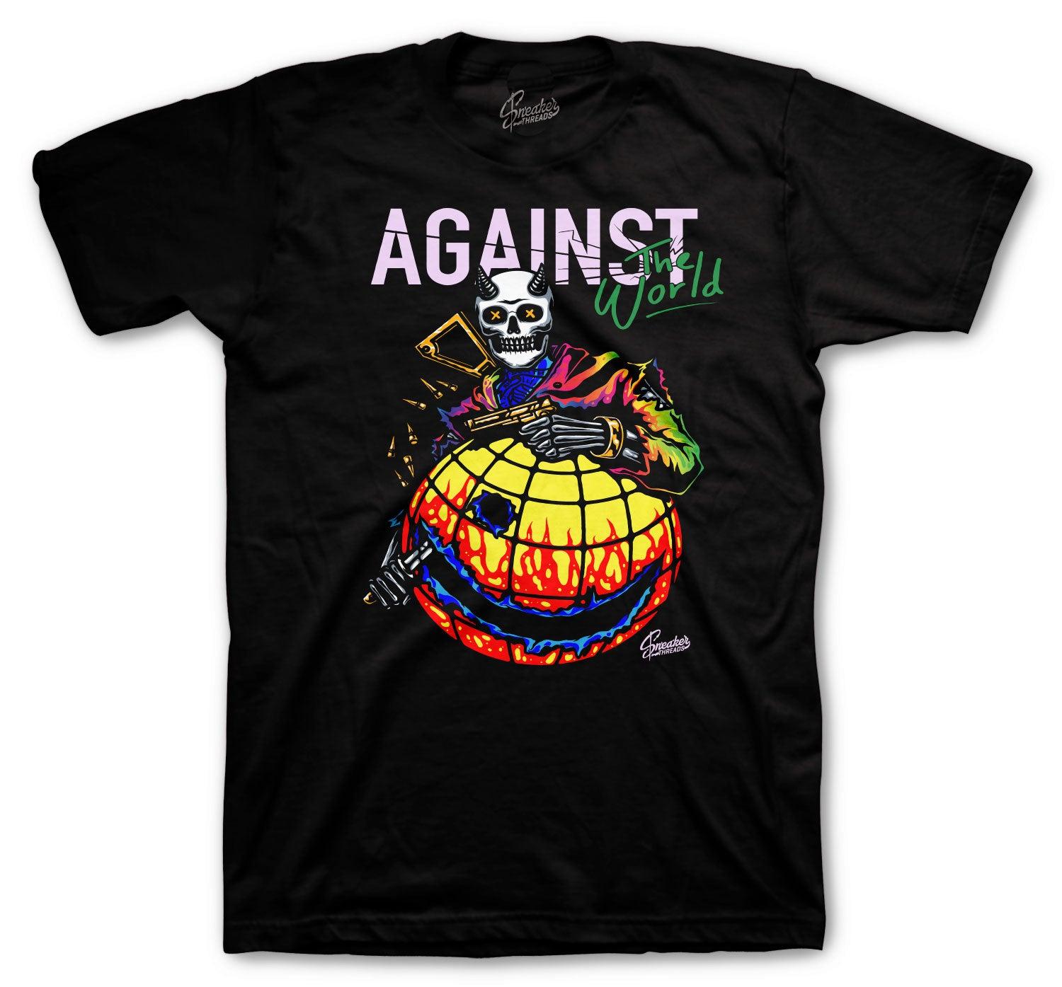 Jordan 1 Balvin Shirt -  Against The World - Black