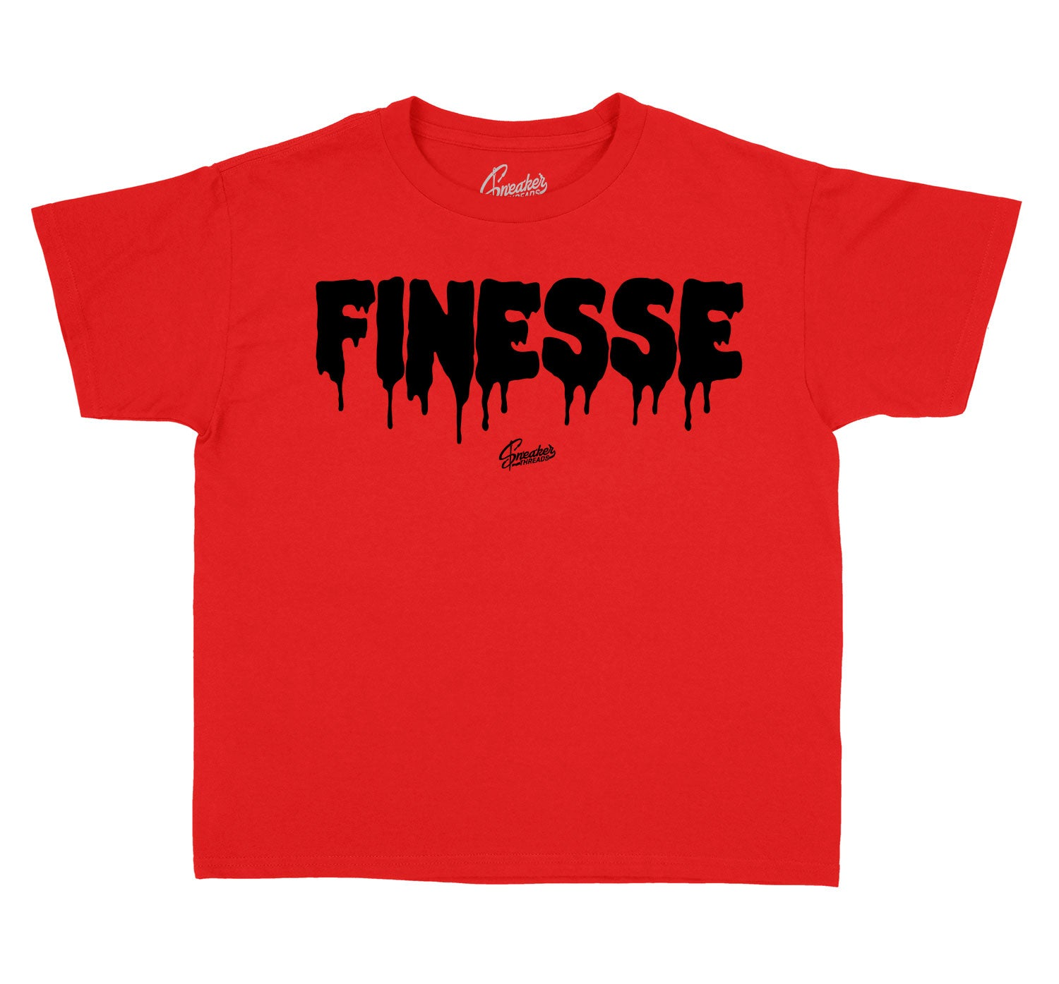 Kids Reverse Flu 12 Shirt - Finesse - Red