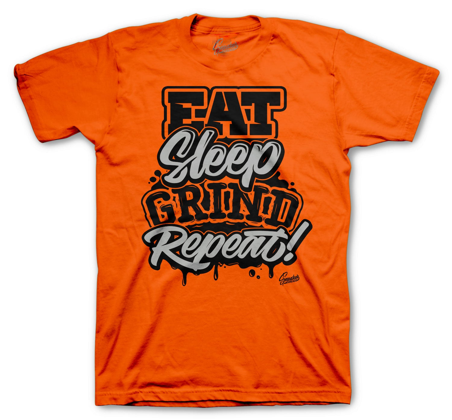 Foamposite Pro Halloween Shirt - Daily Routine - Orange