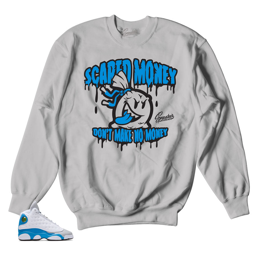 Jordan 13 italy blue sweaters match shoes | Sneaker sweaters