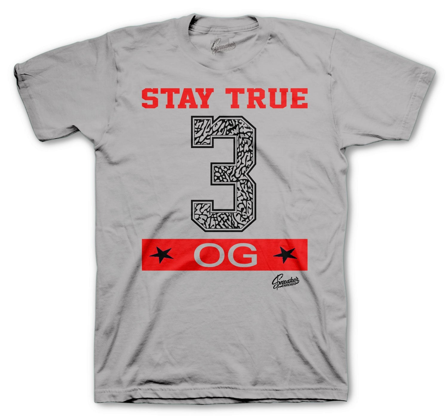 t shirt collection designed to match the sneaker collection Jordan 3 red cement sneakers
