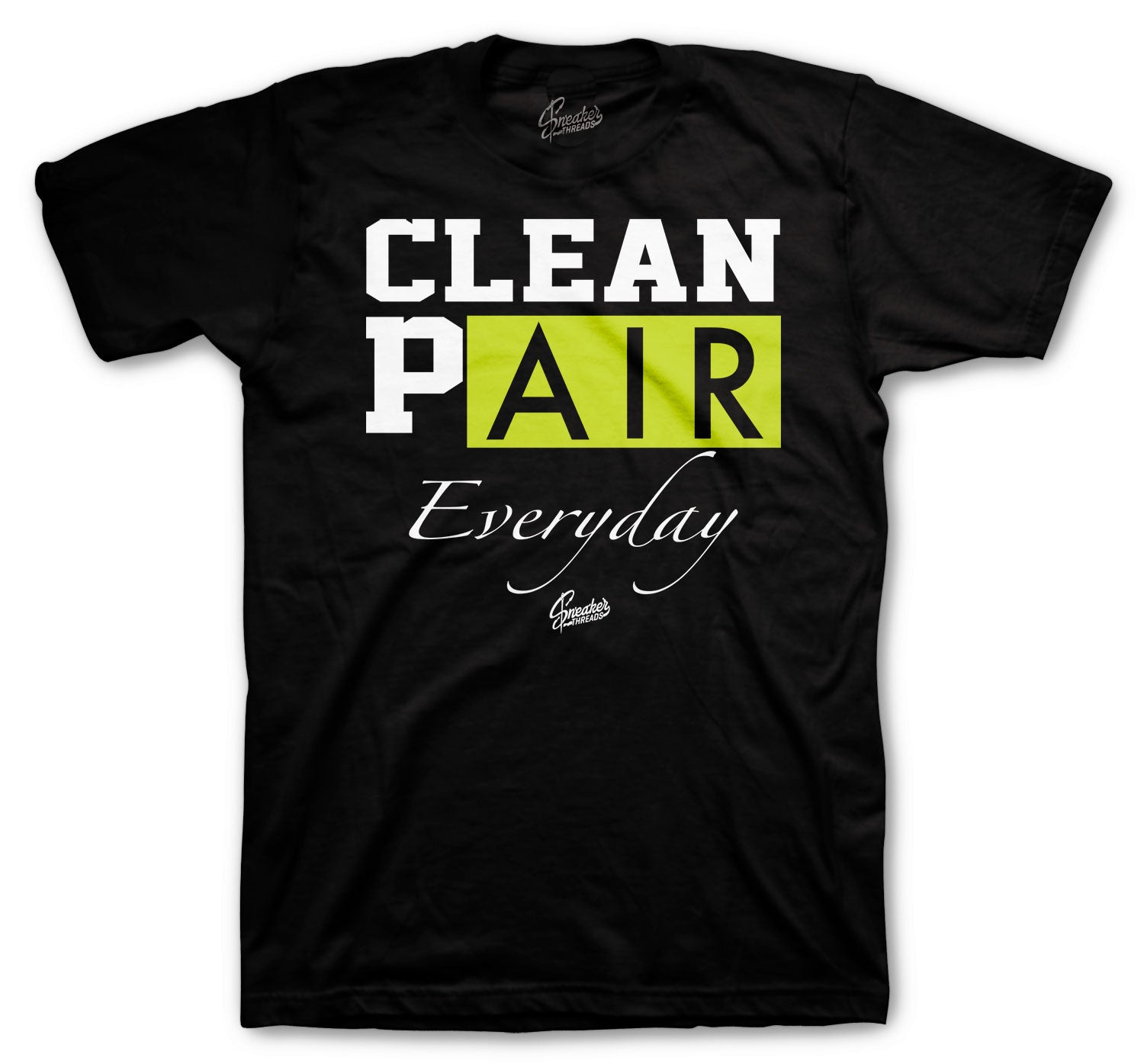 Foamposite Pro Volt Shirt - Clean Pair - Black