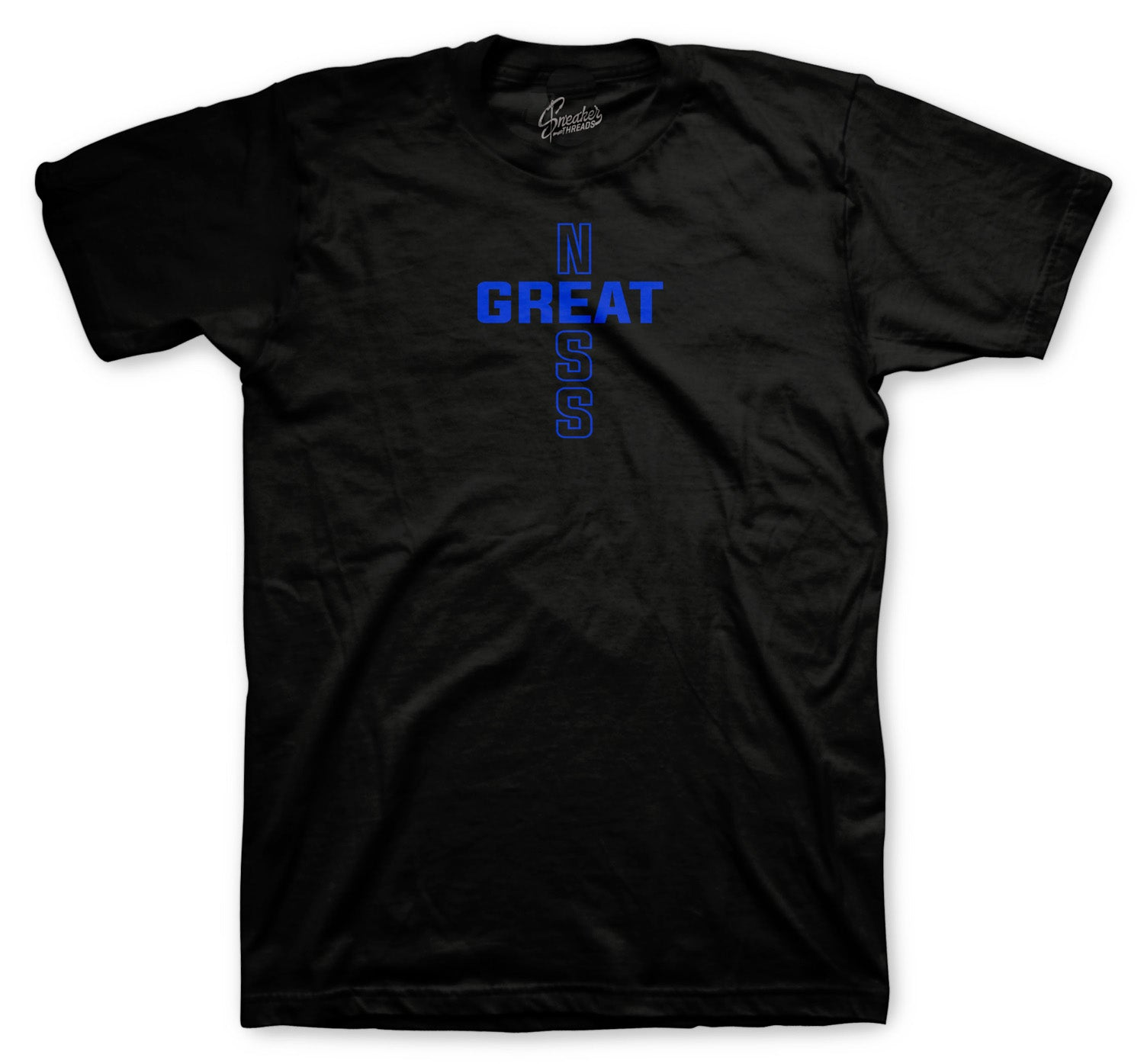 Jordan 12 game royal sneakers have matching Jordan sneaker shirt