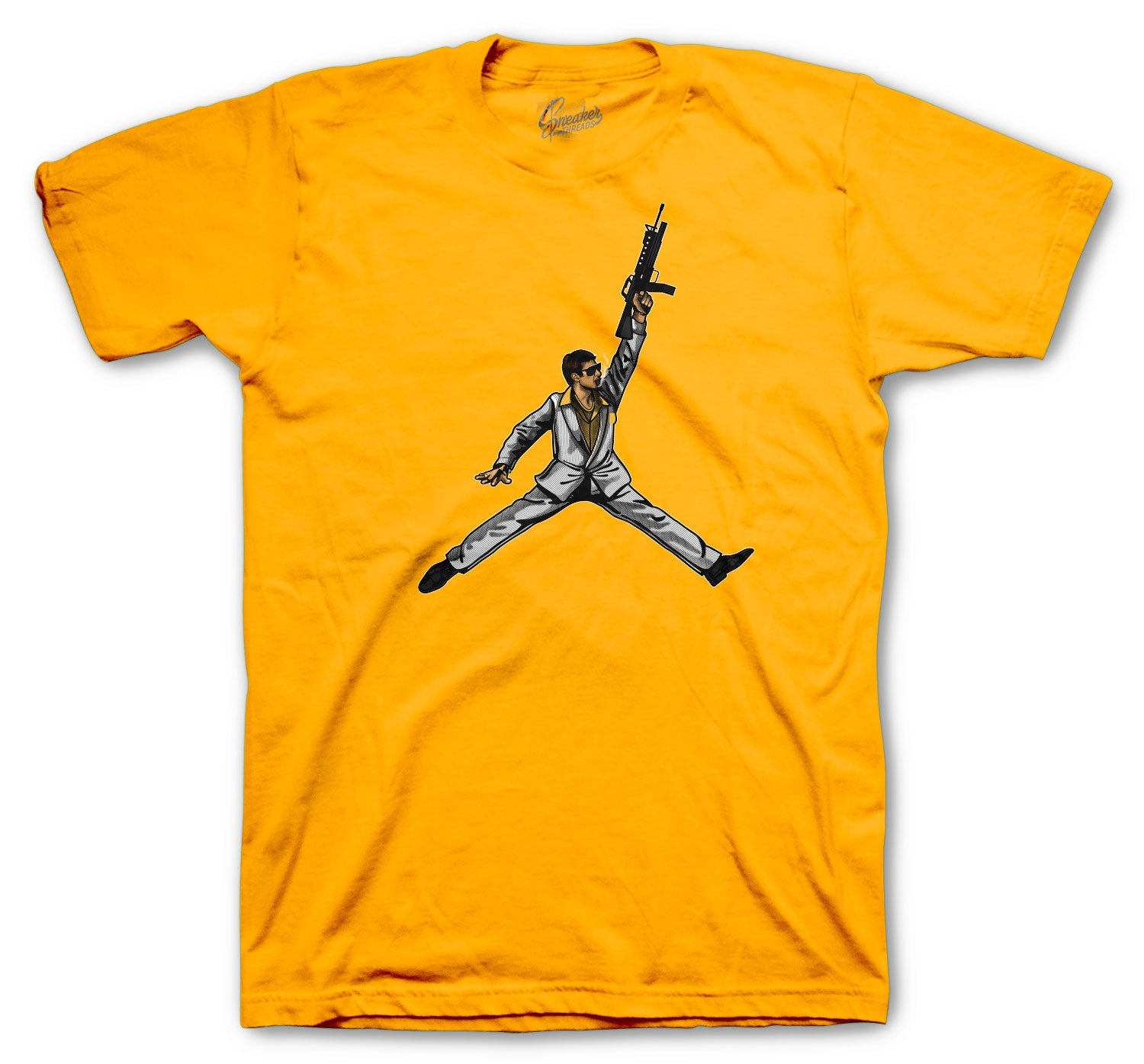 Jordan 9 University Gold Shirt -Air Tony - Gold
