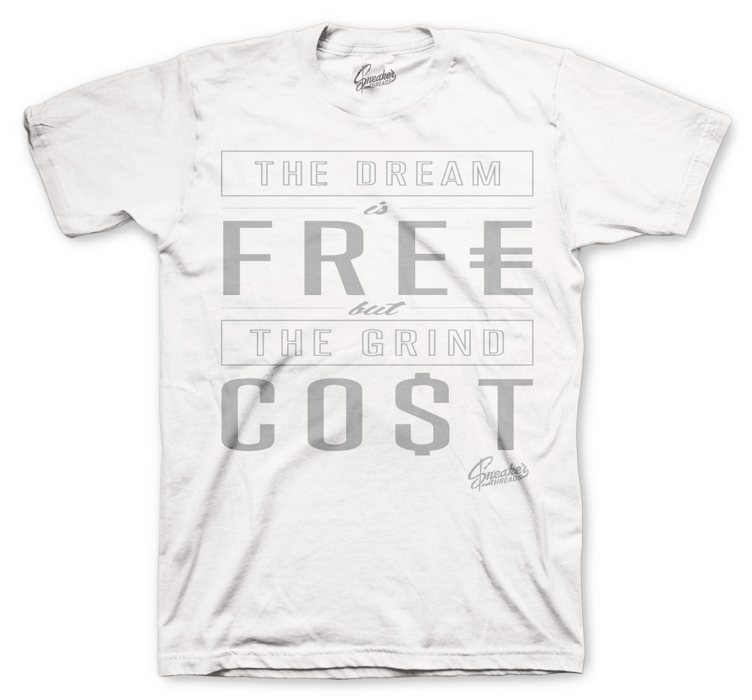 Jordan 1 Neutral Grey Shirt - Cost - White