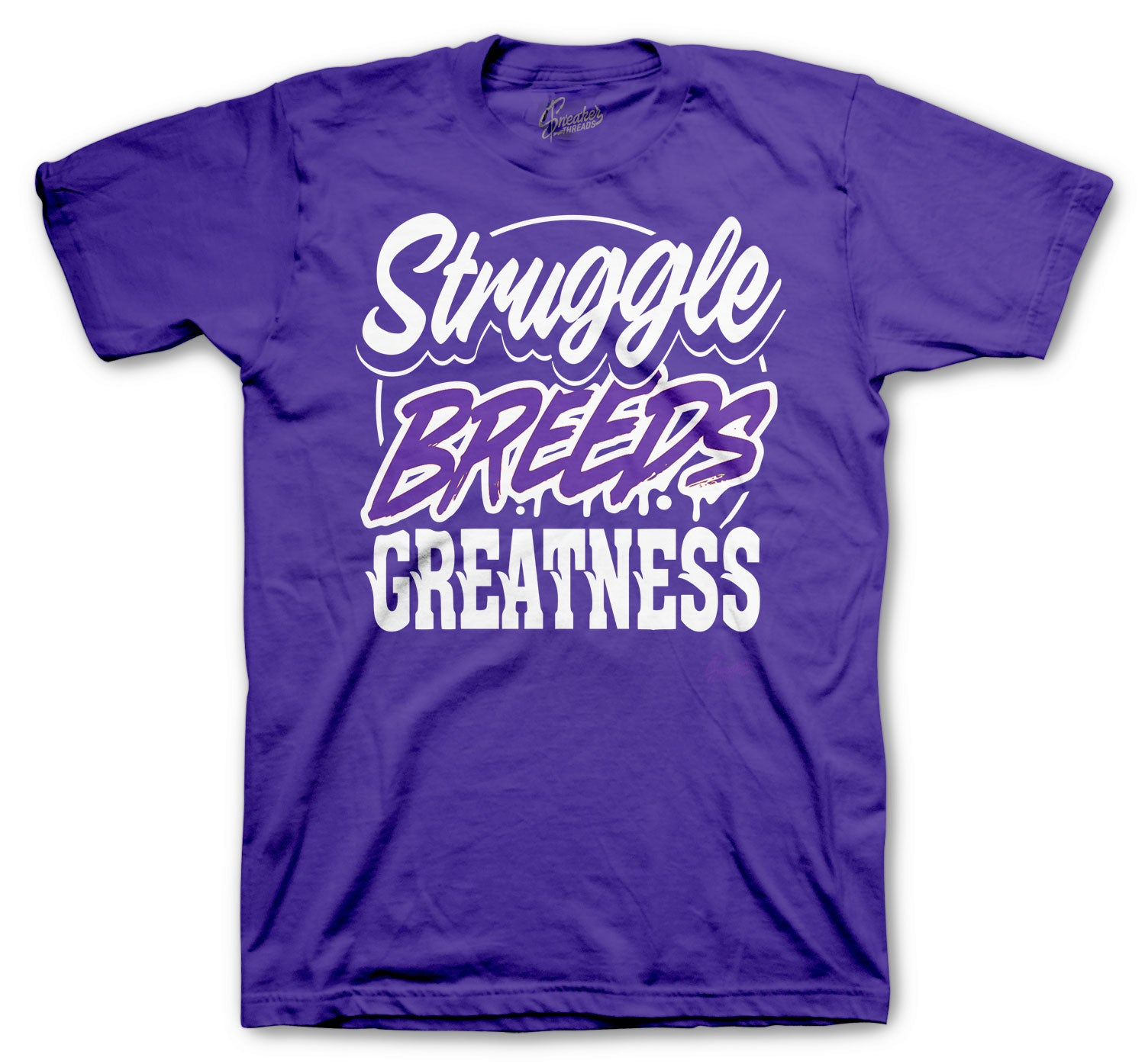 Purple Metallic Jordan 4 sneaker collection matching with boys tees