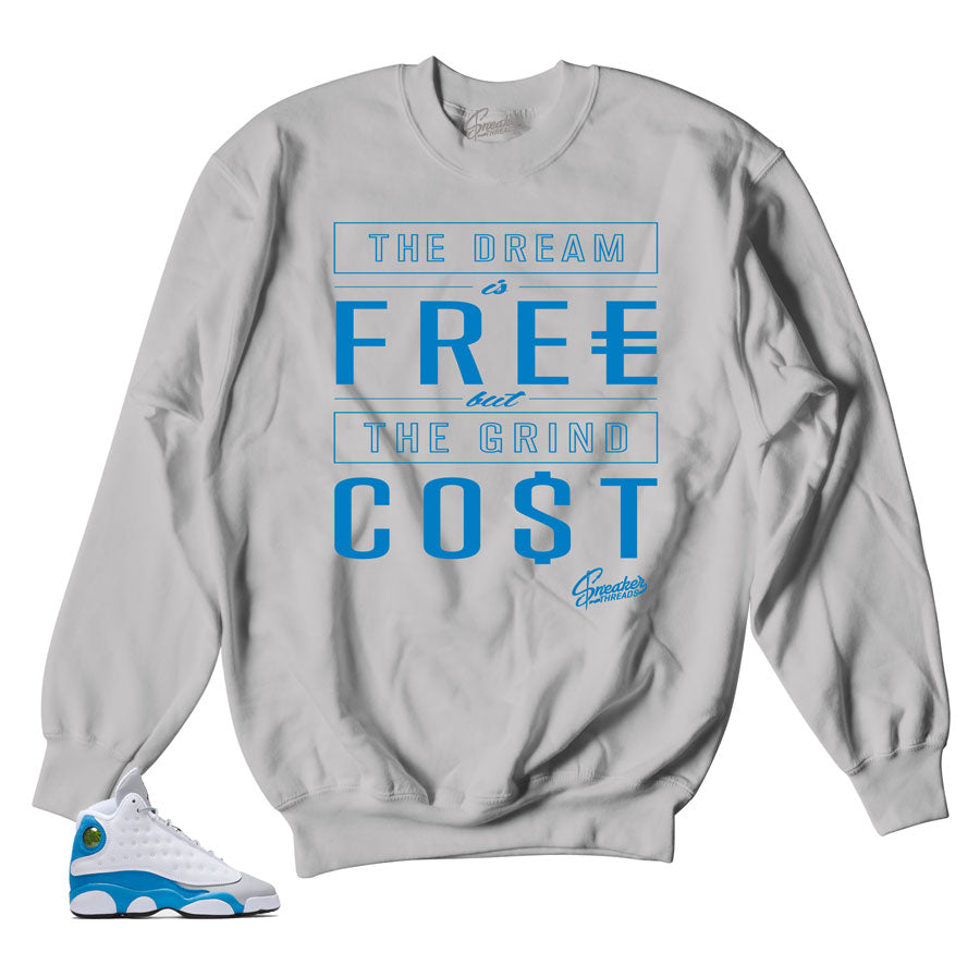 Sweatshirts match Jordan 13 italy blue shoes | Sneaker sweaters