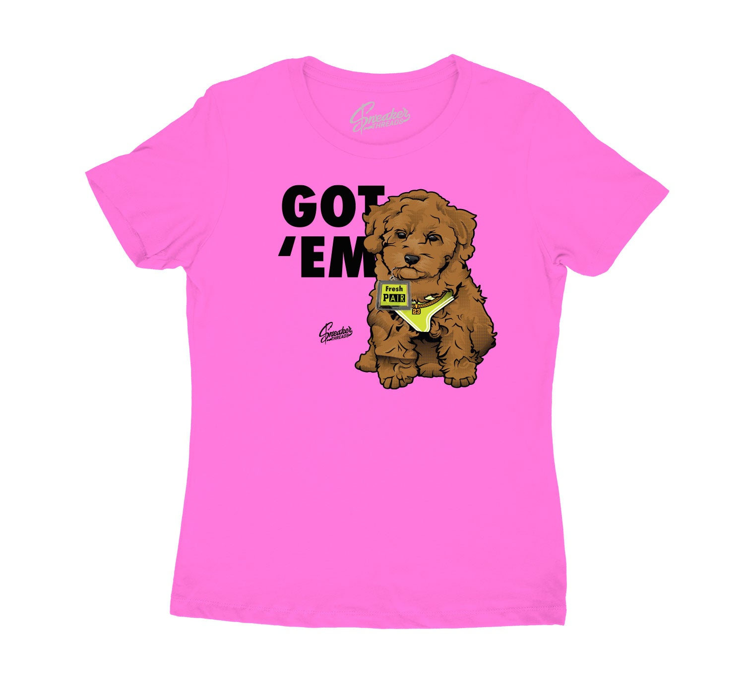 Womens Lemon Venom Shirt - Got Em - Neon Pink