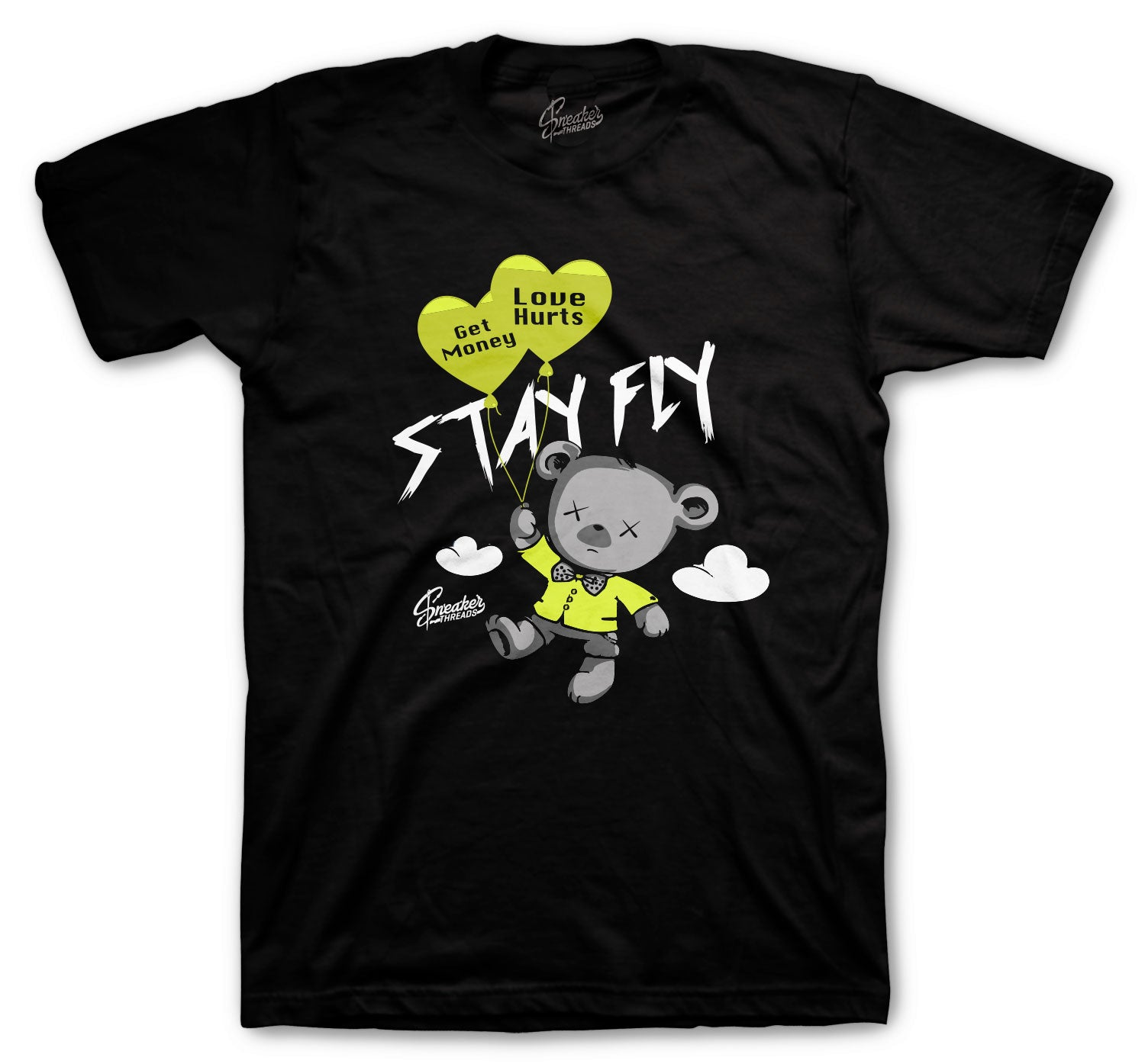 Foamposite Pro Volt Shirt - Money Over Love - Black