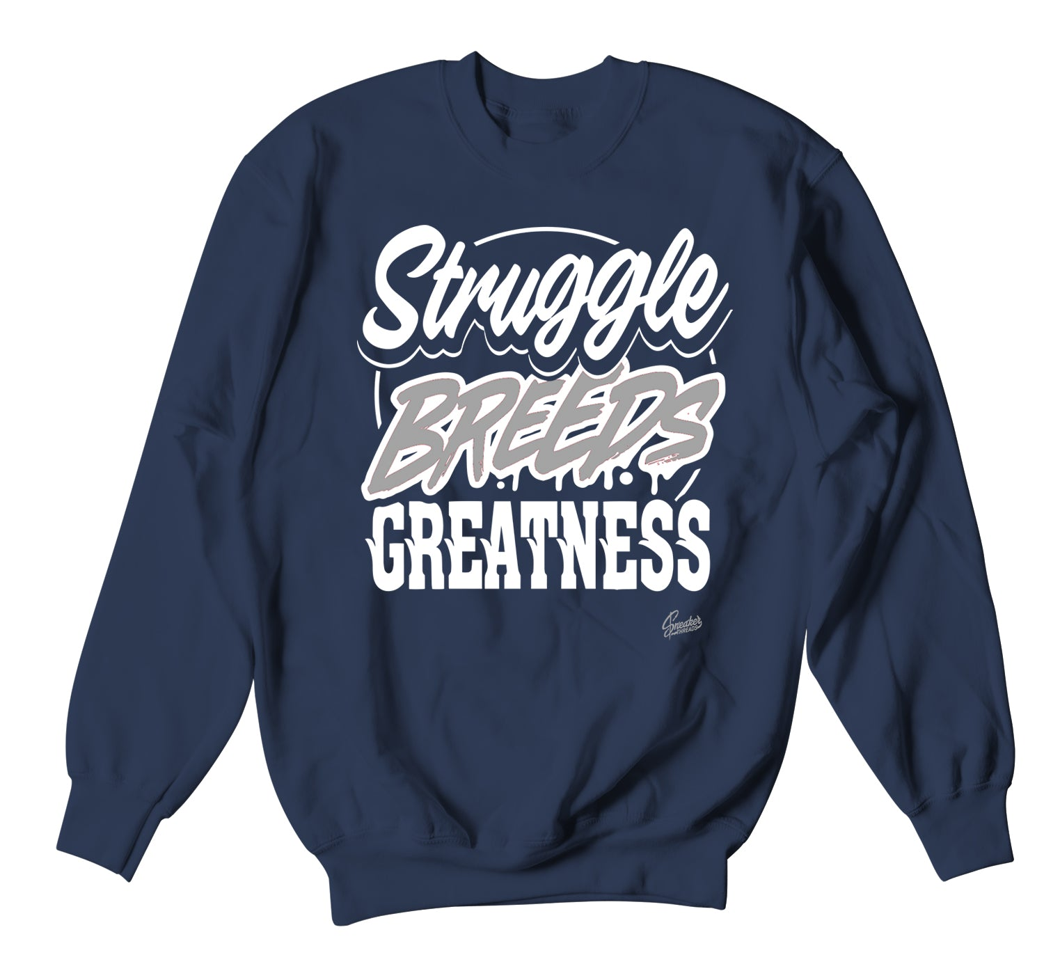 crewneck sweater collection matching with mens jordan 1 midnight navy sneaker collection