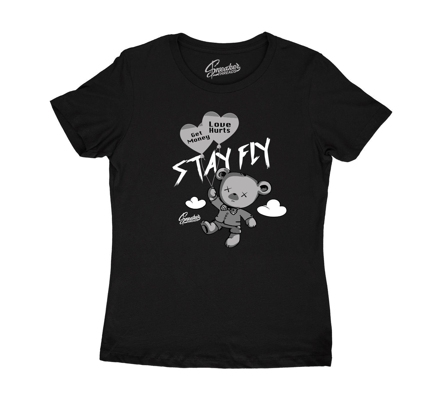 Black Cat 4s have matching t shirt collection for women