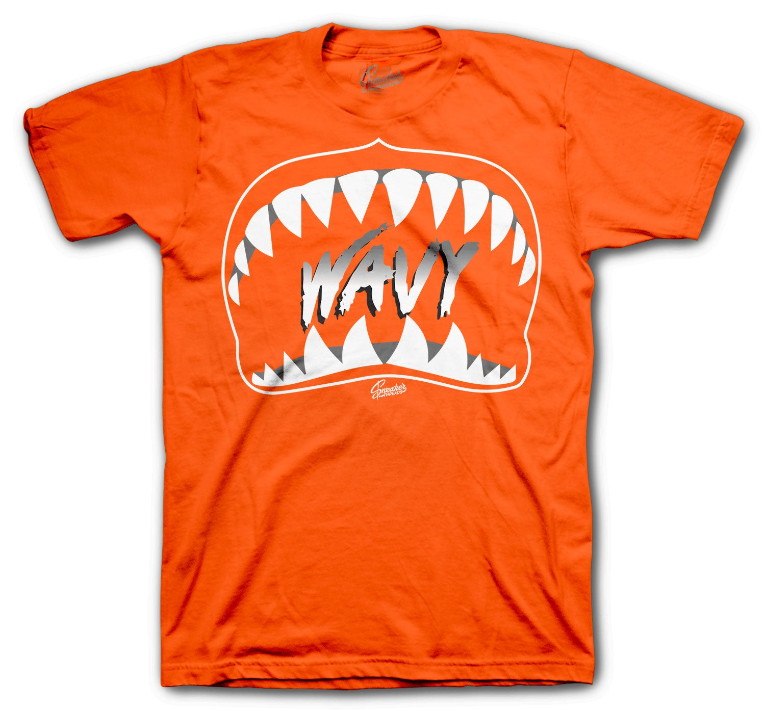 T shirt collection matches with sneaker collection Jordan  4 Metallic Orange Sneaker collection