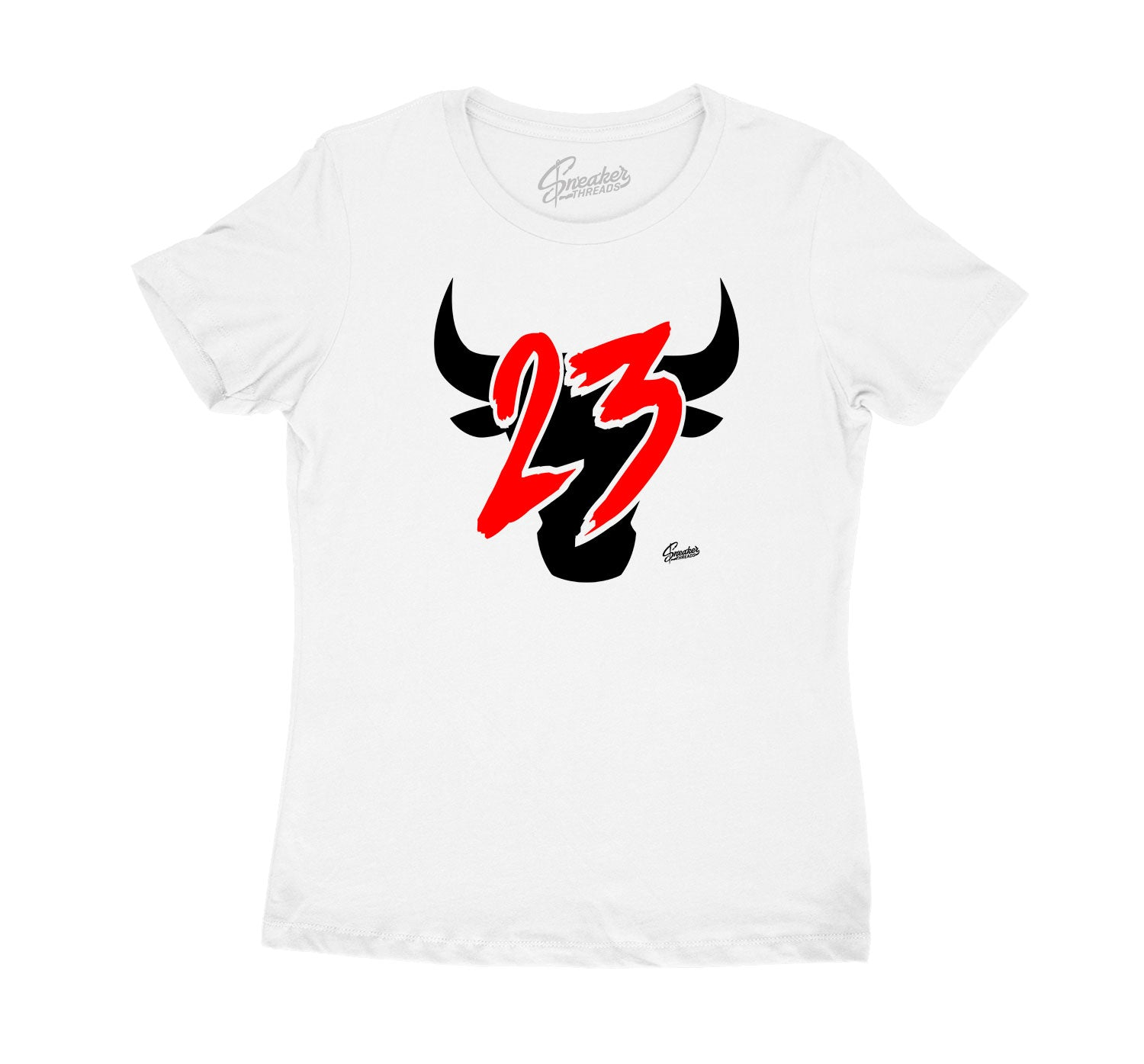 Fire Red Jordan 4 sneaker collection matching with womens t shirts