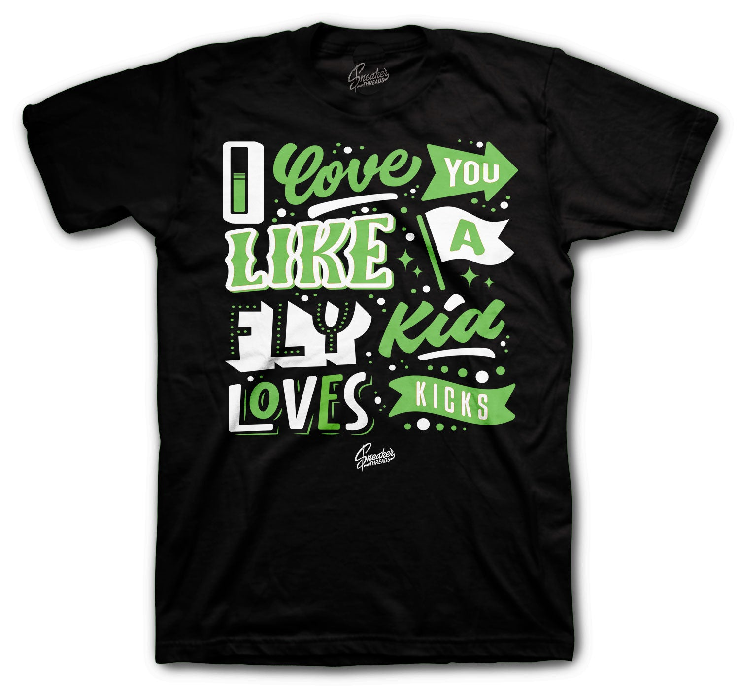 T shirt collection matching with zen green Jordan 1 sneaker collection