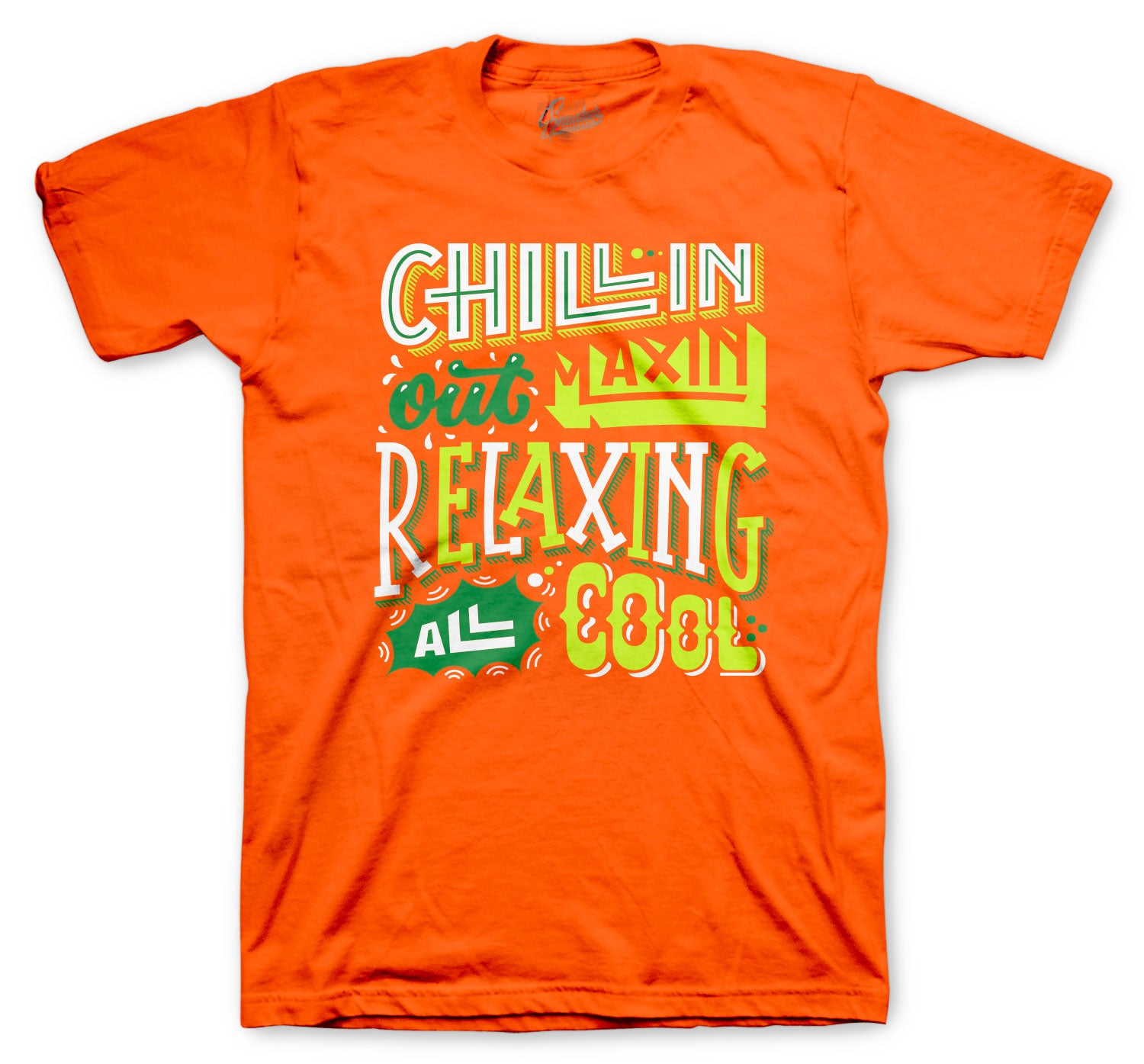 All Star 2020 PG 4 Shirt  - Chillin Relaxin - Orange