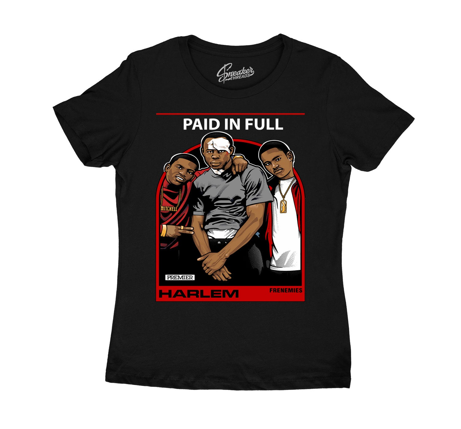 T shirt collection to match with mens Jordan 13 red flint sneaker collection
