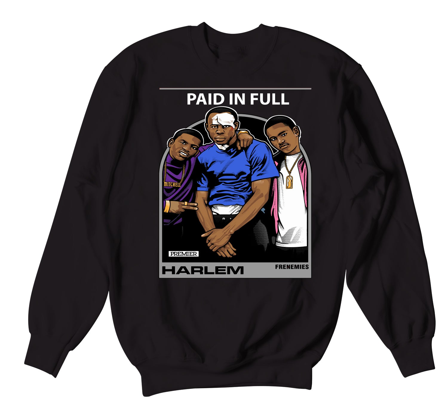 crew necks fro men designed to match the foamposite gradient sole collection