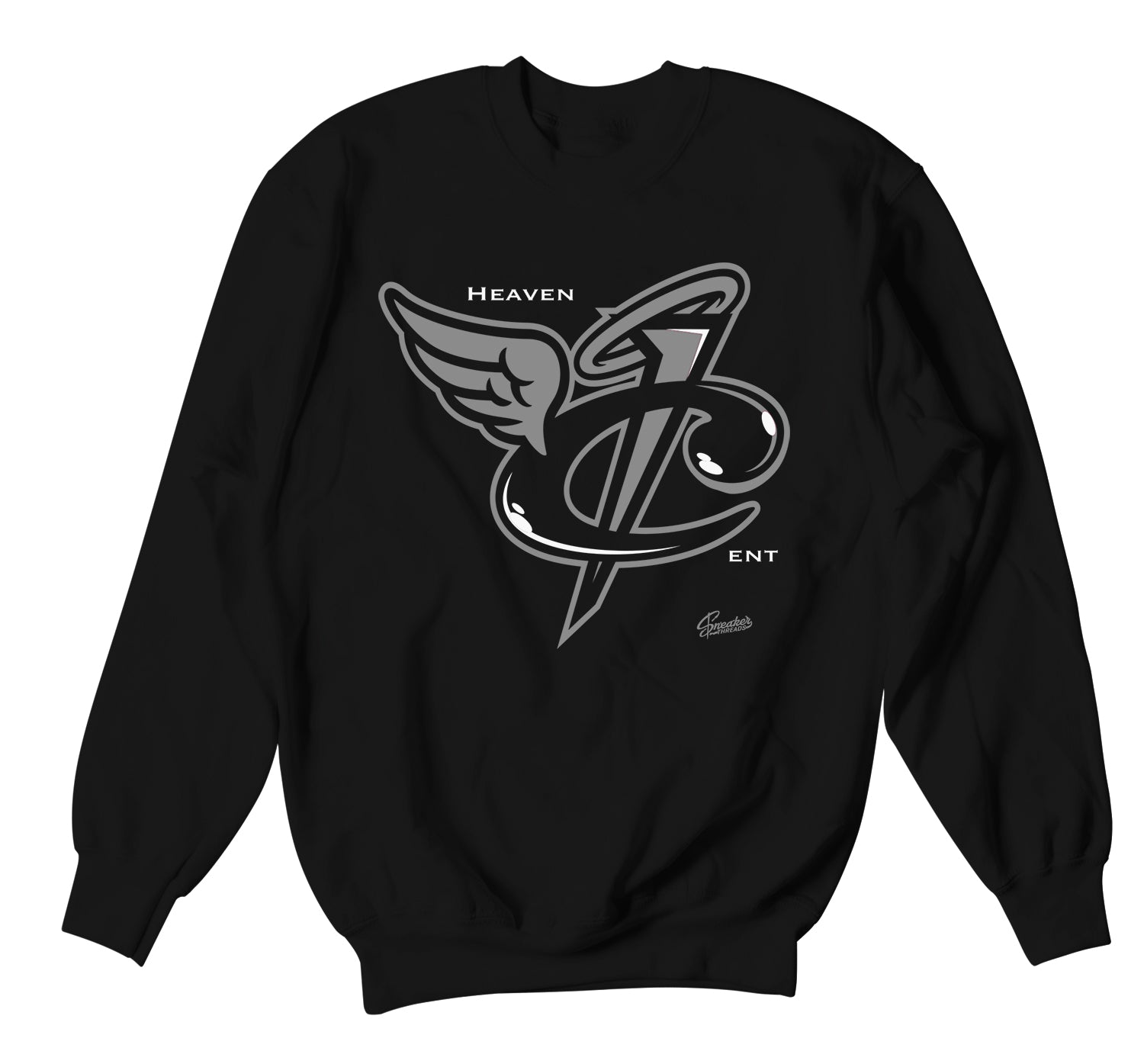 Foamposite Anthracite Sweater - Heaven Cent - Black