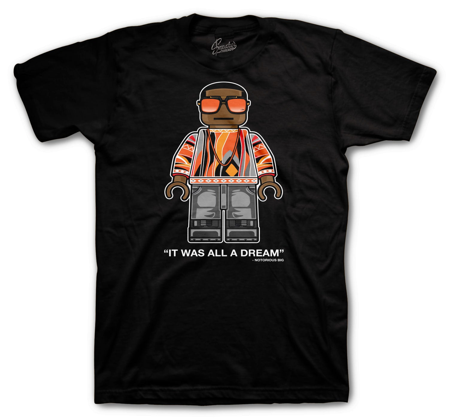 Foamposite Pro Halloween Shirt - Big Bic - Black
