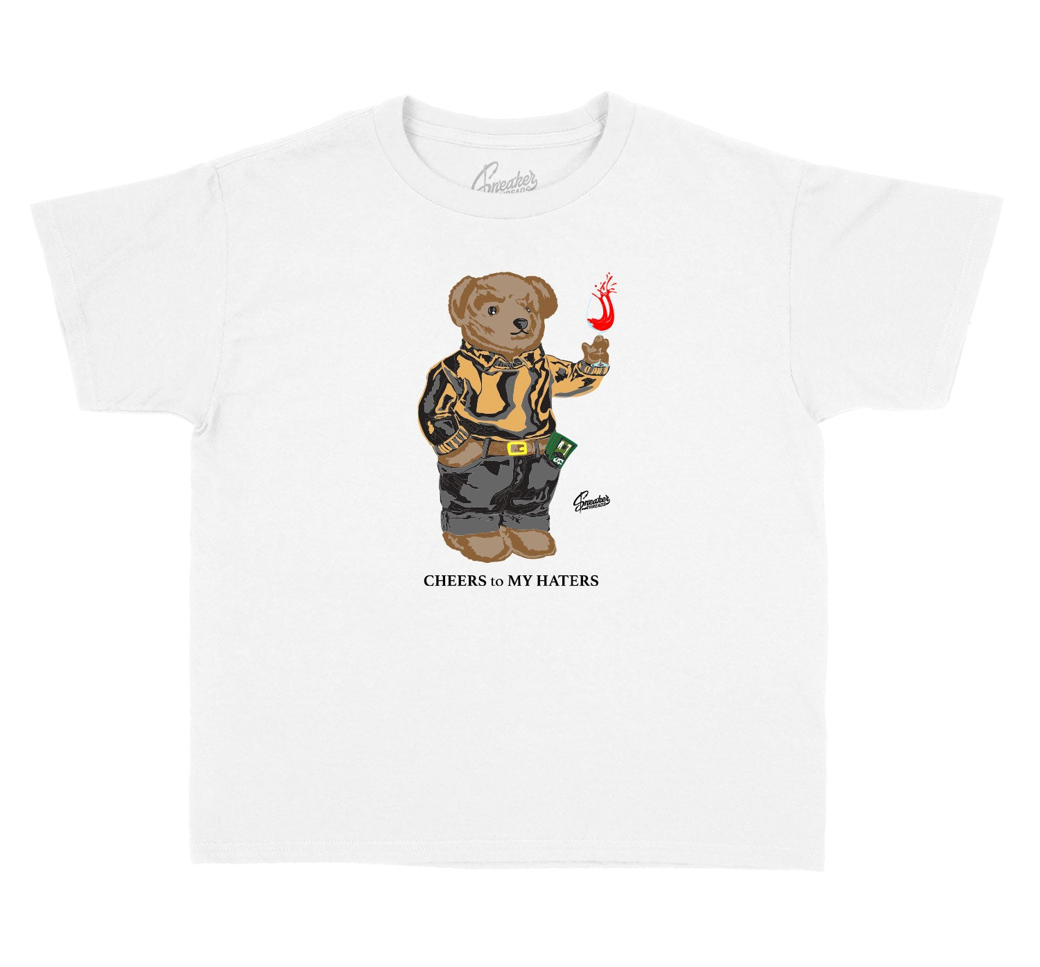 T shirt for kids matching the yeezy 380 mist sneaker collection