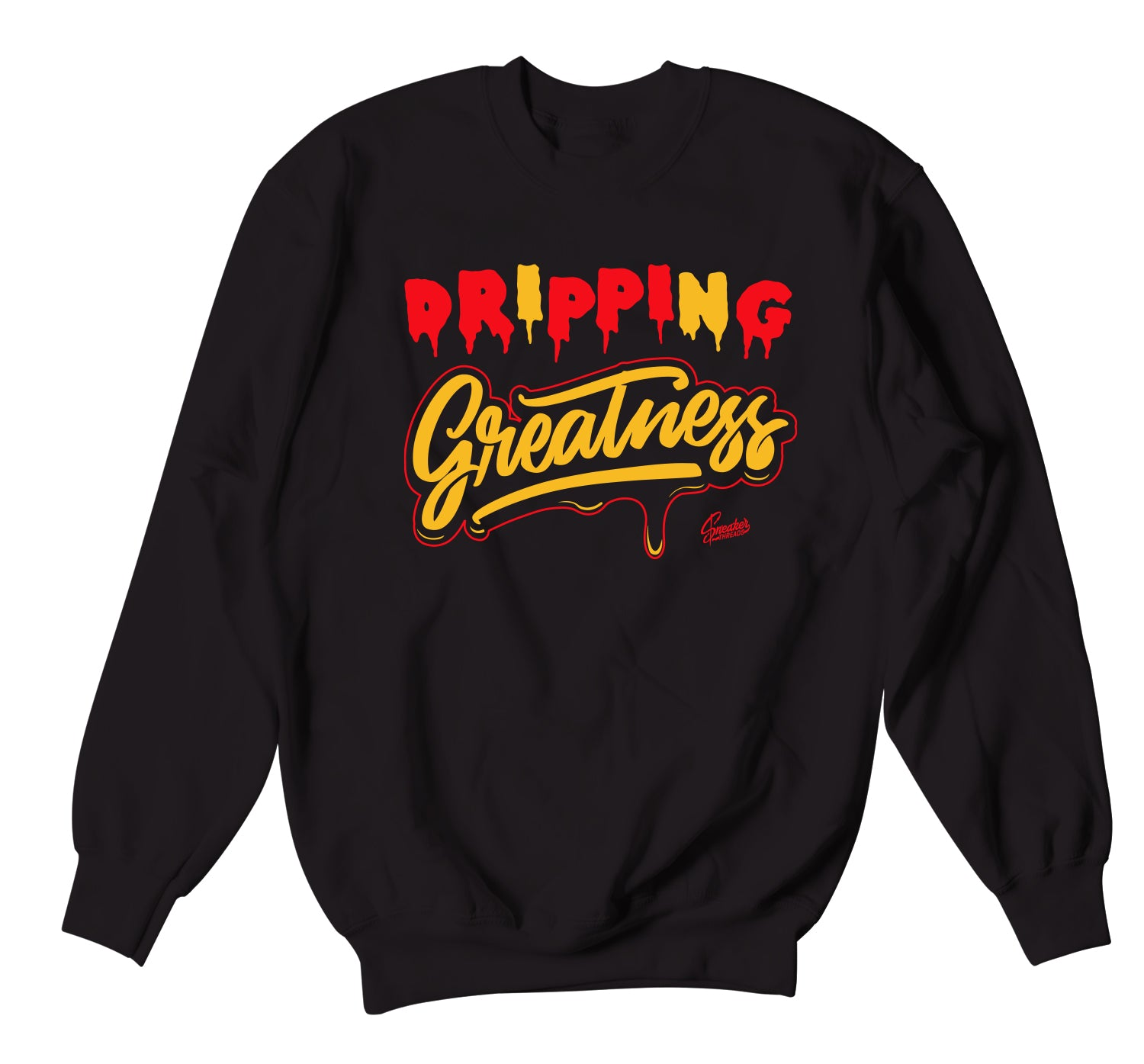 All Star 2020 Trophies Sweater  - Dripping Greatness - Black