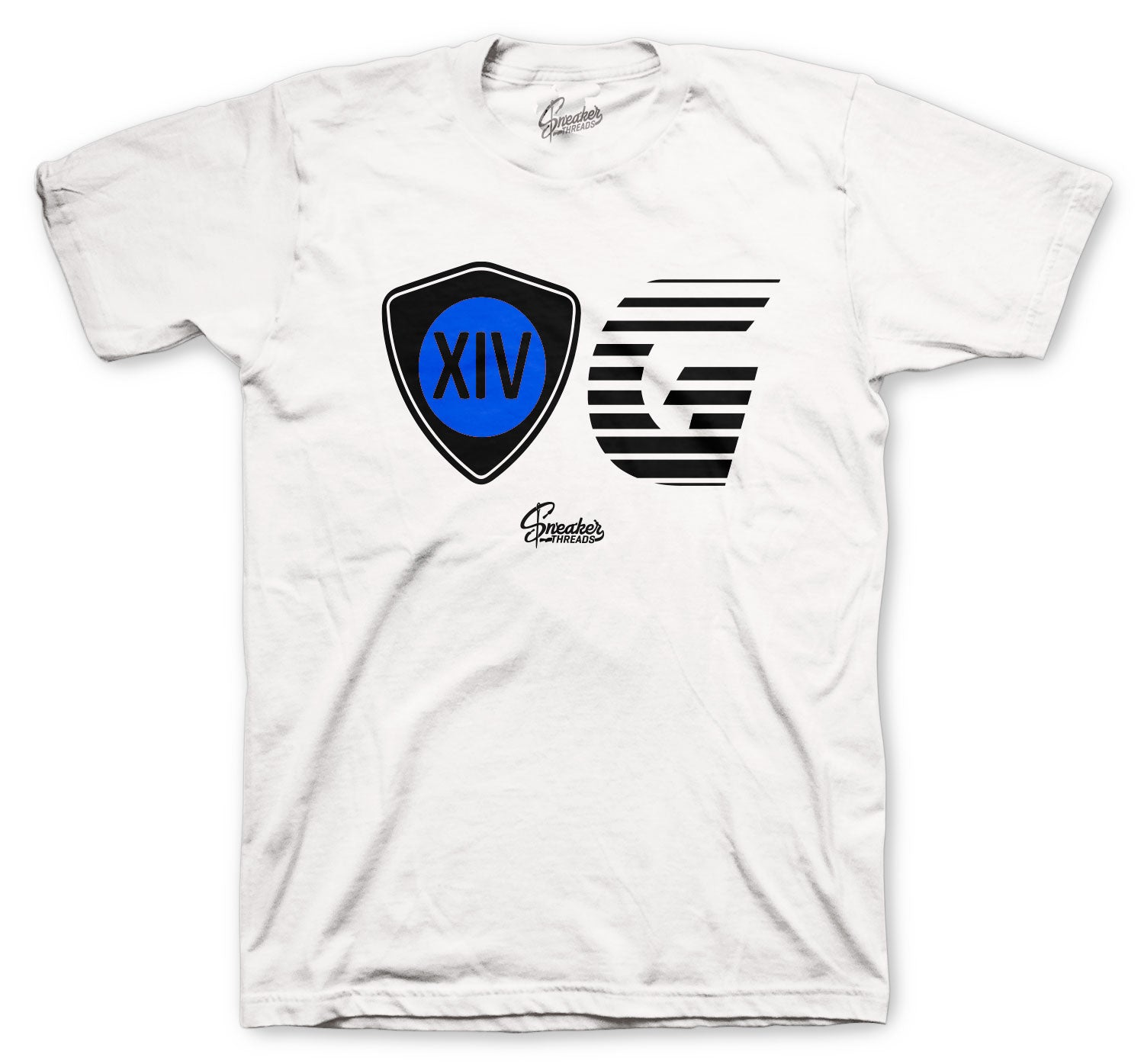 Jordan 14 Hyper Royal Shirt - OG - White