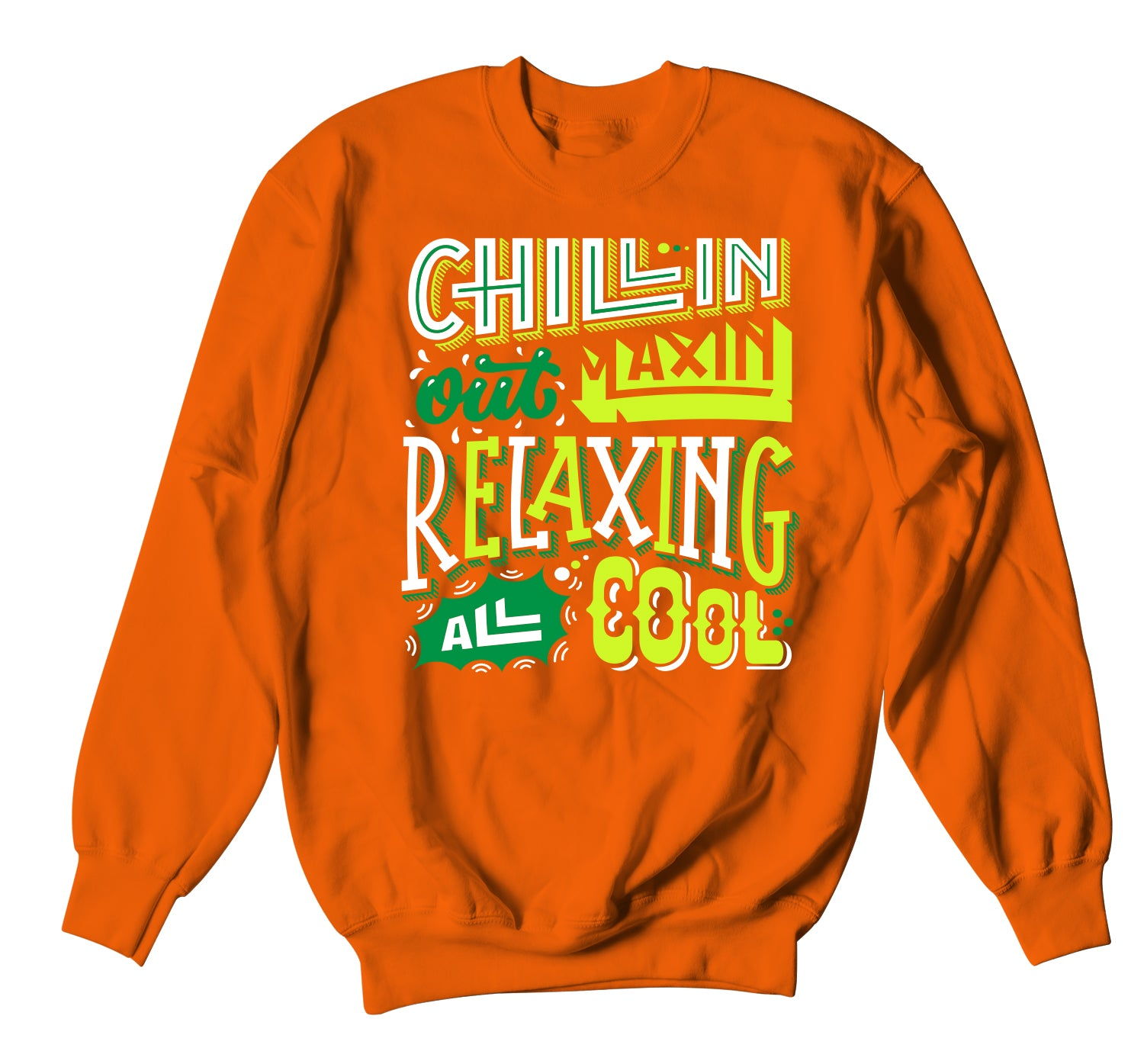 All Star 2020 PG 4 Sweater  - Chillin Relaxin - Orange