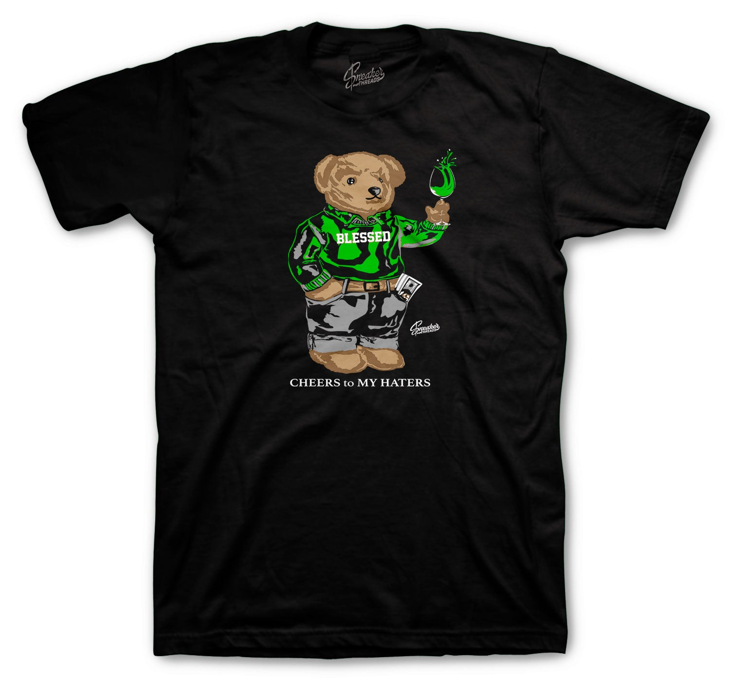 Jordan 5 Oregon Shirt - Cheers Bear - Black