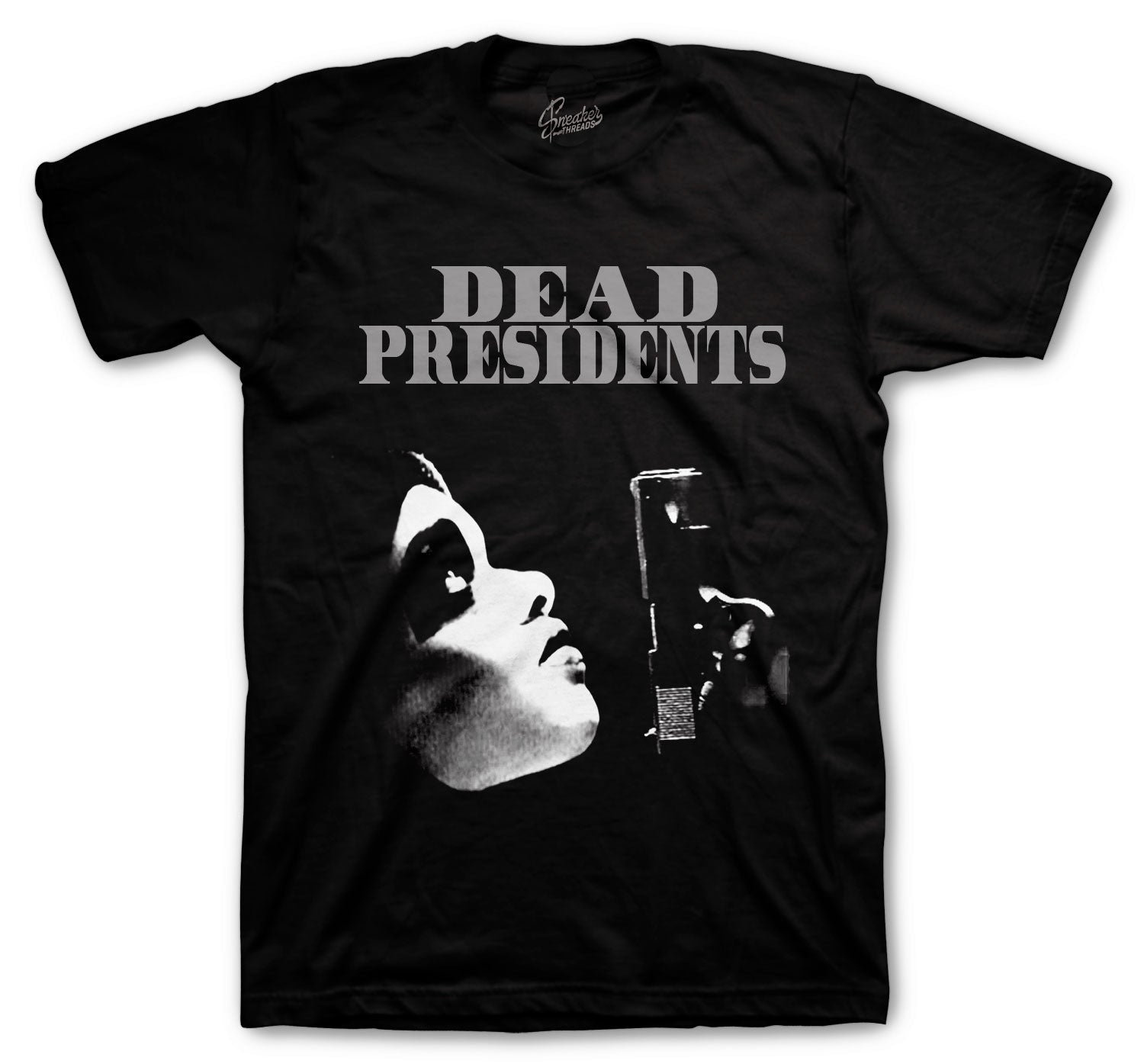 Foamposite Anthracite Shirt - Dead Pres - Black