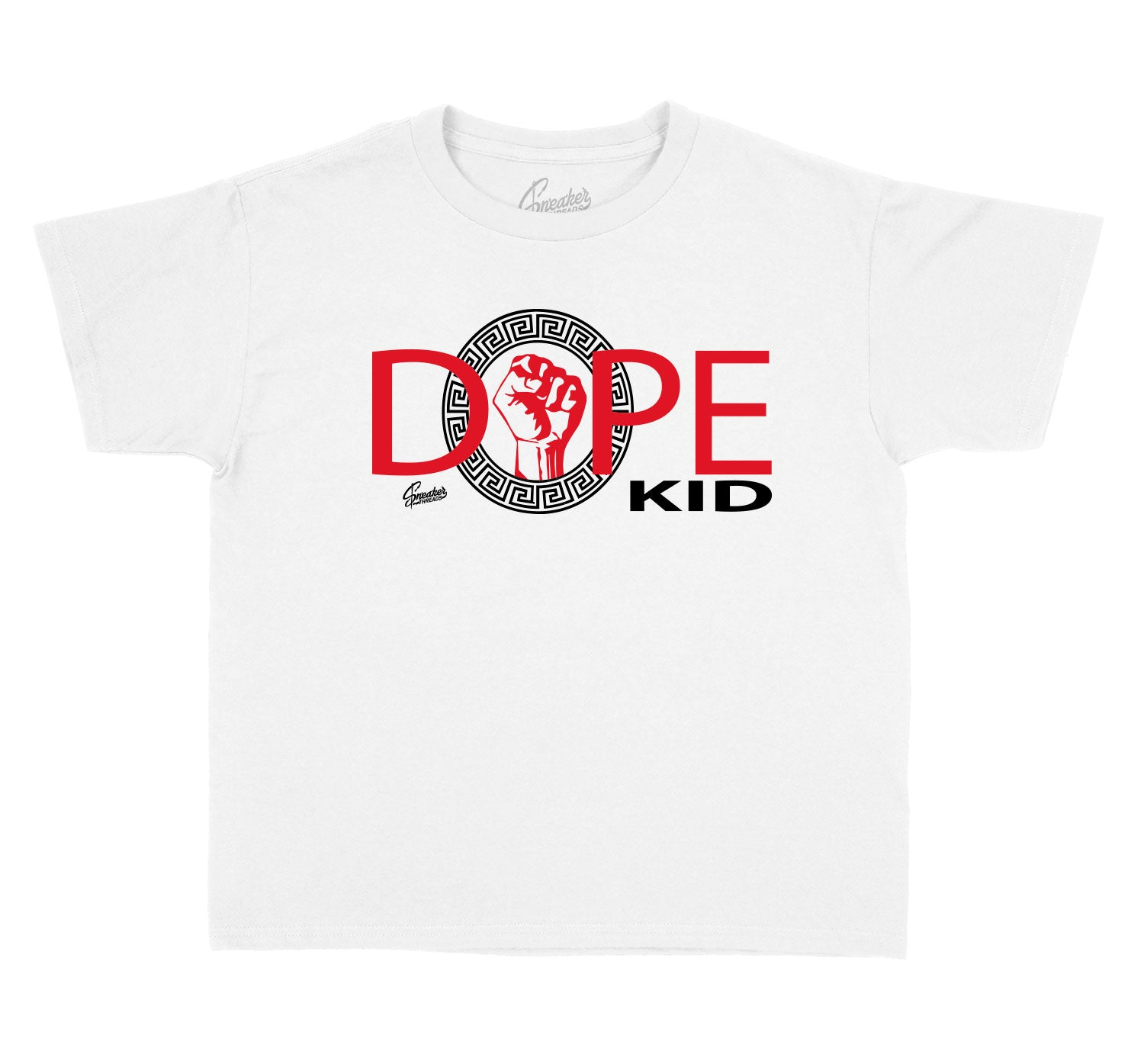 Jordan Retro 9 gym red sneaker matching kids shirts