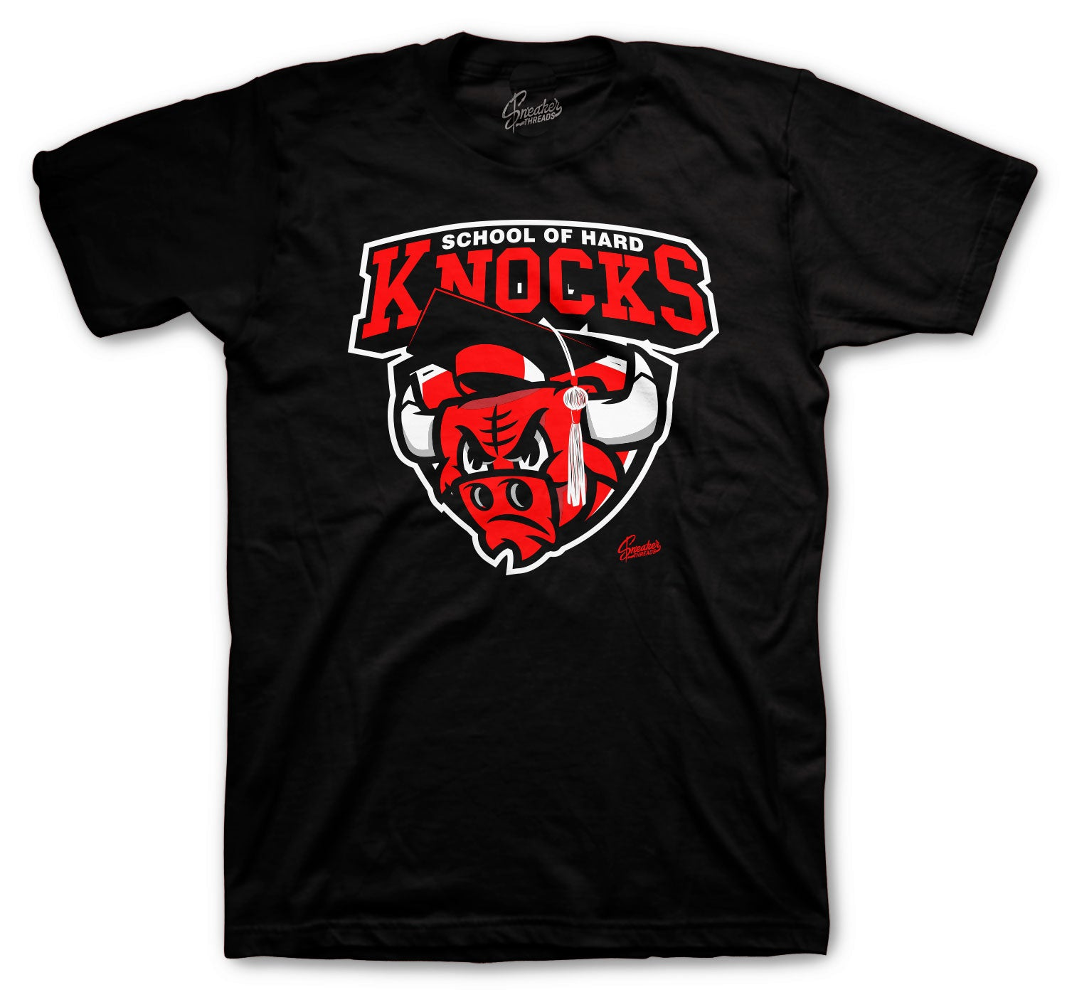 Jordan 1 AJKO Chicago Shirt - Hard Knocks - Black