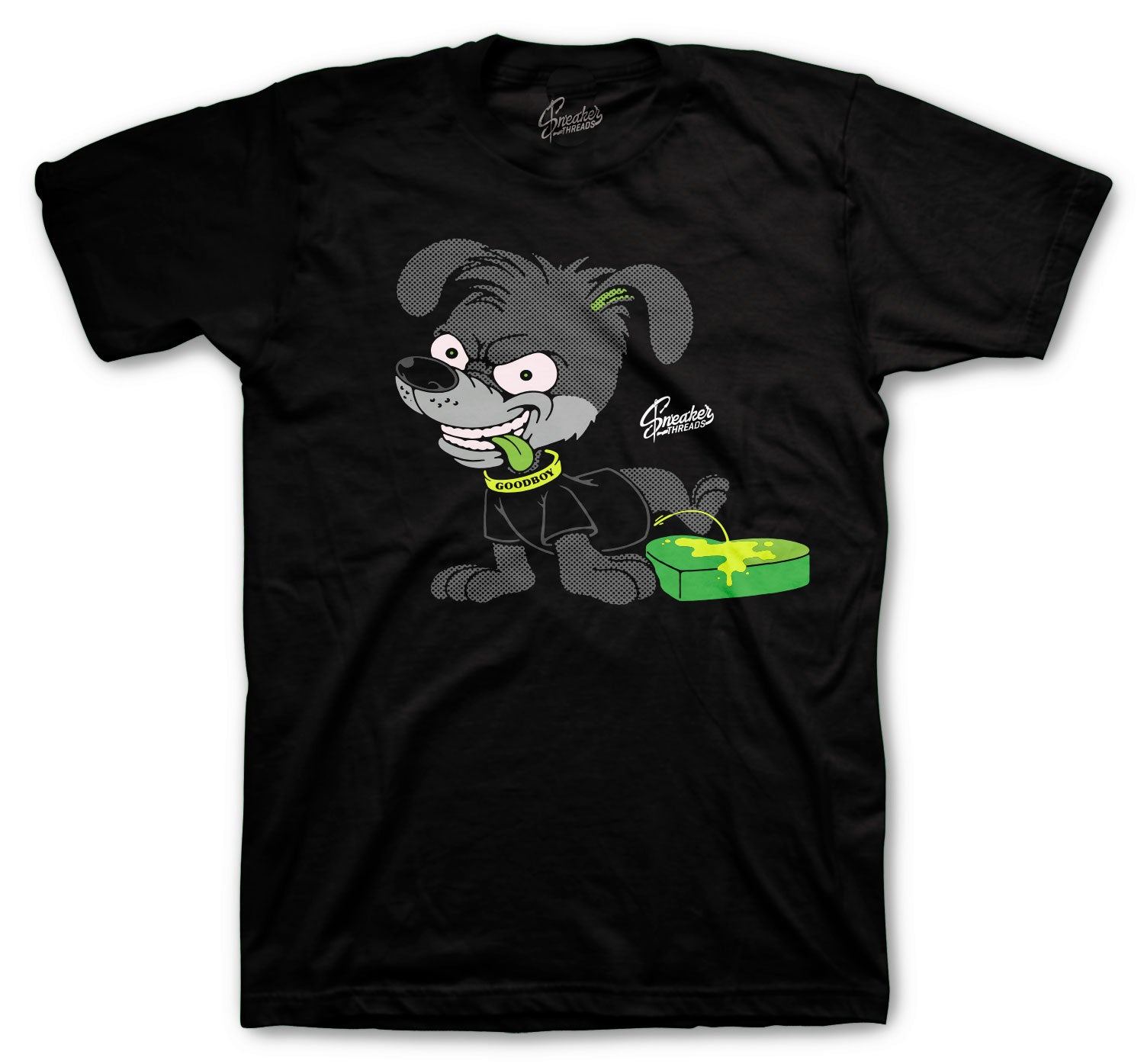 Grinch 6 Shirt - Love Stinks - Black
