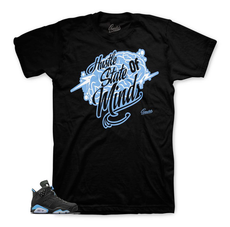 Jordan 6 UNc shirts | Carolina blue retro 6 tee.