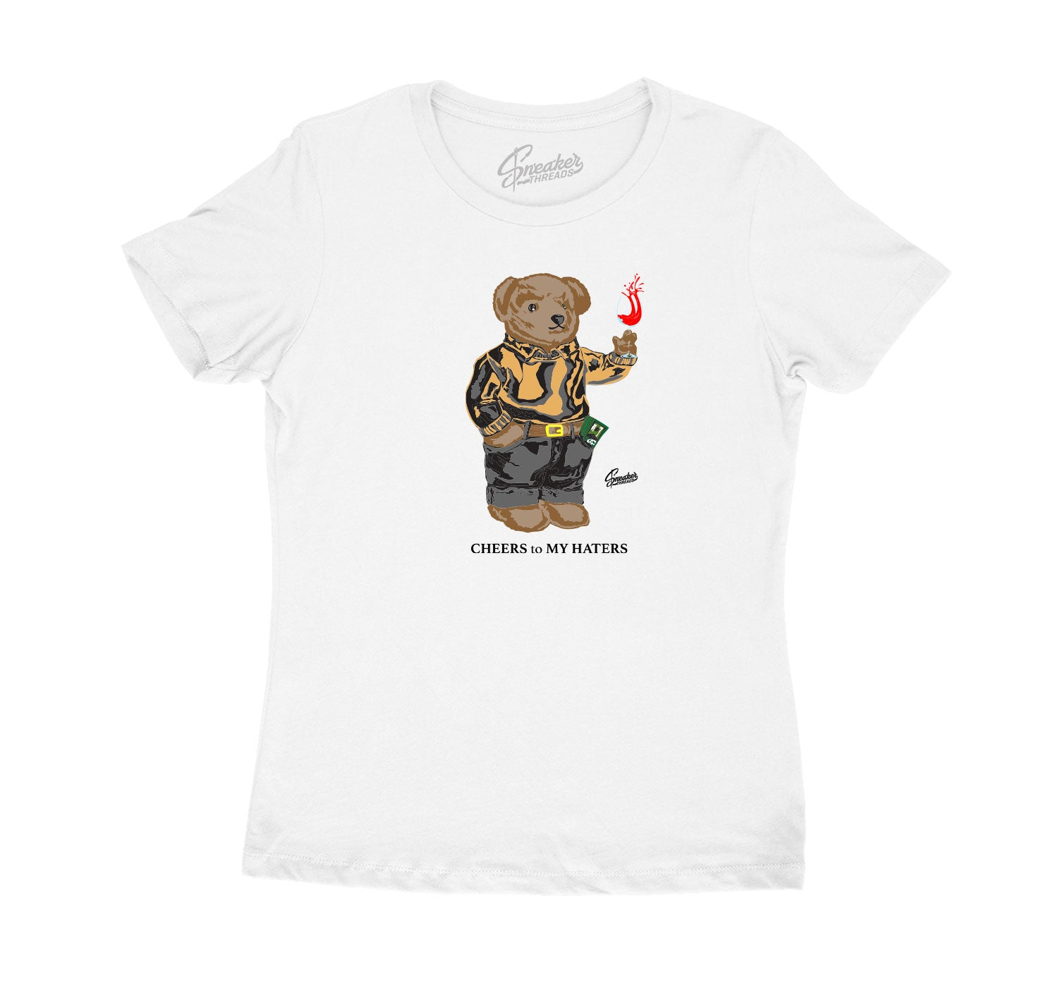 girls t shirt collection designed ro match the yeezy 380 mist sneaker collection