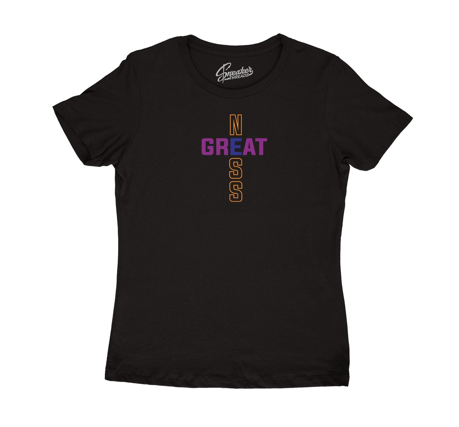 Women shirt to match Jordan 4 Rush Violet sneaker