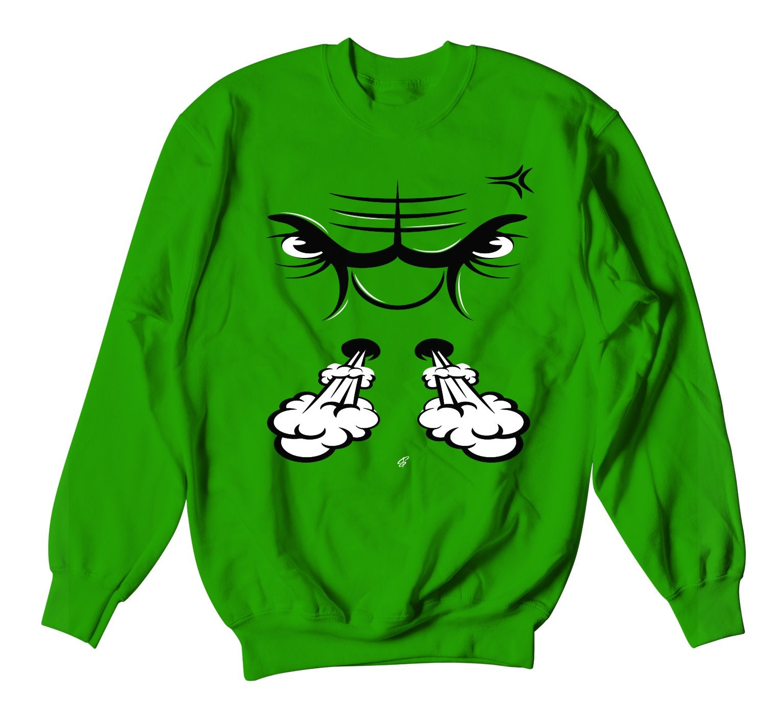 Jordan retro 1 pine green sneaker collection has matching crewneck sweaters