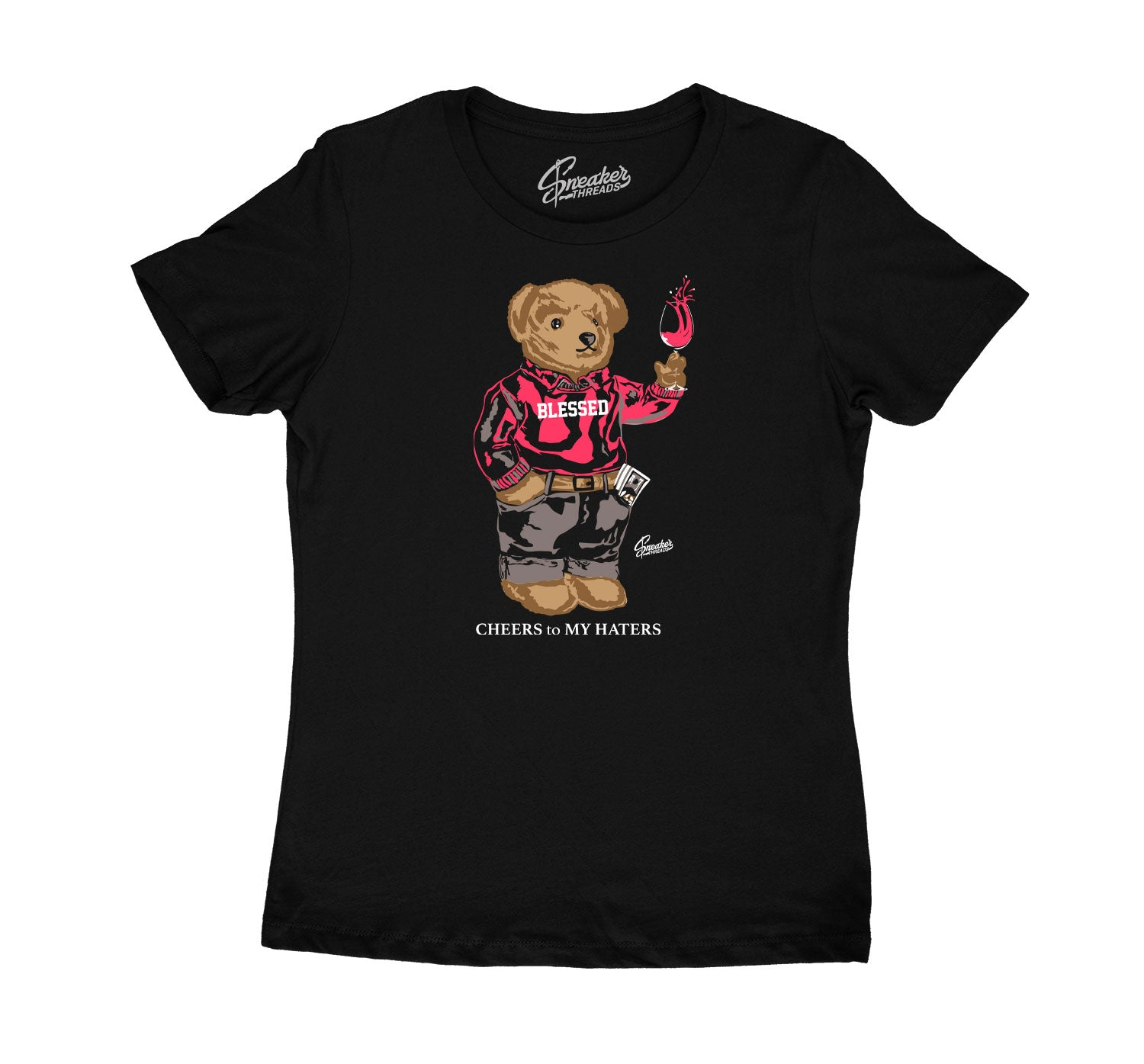 Taupe Haze Jordan 4 sneaker collection matches with girls t shirt