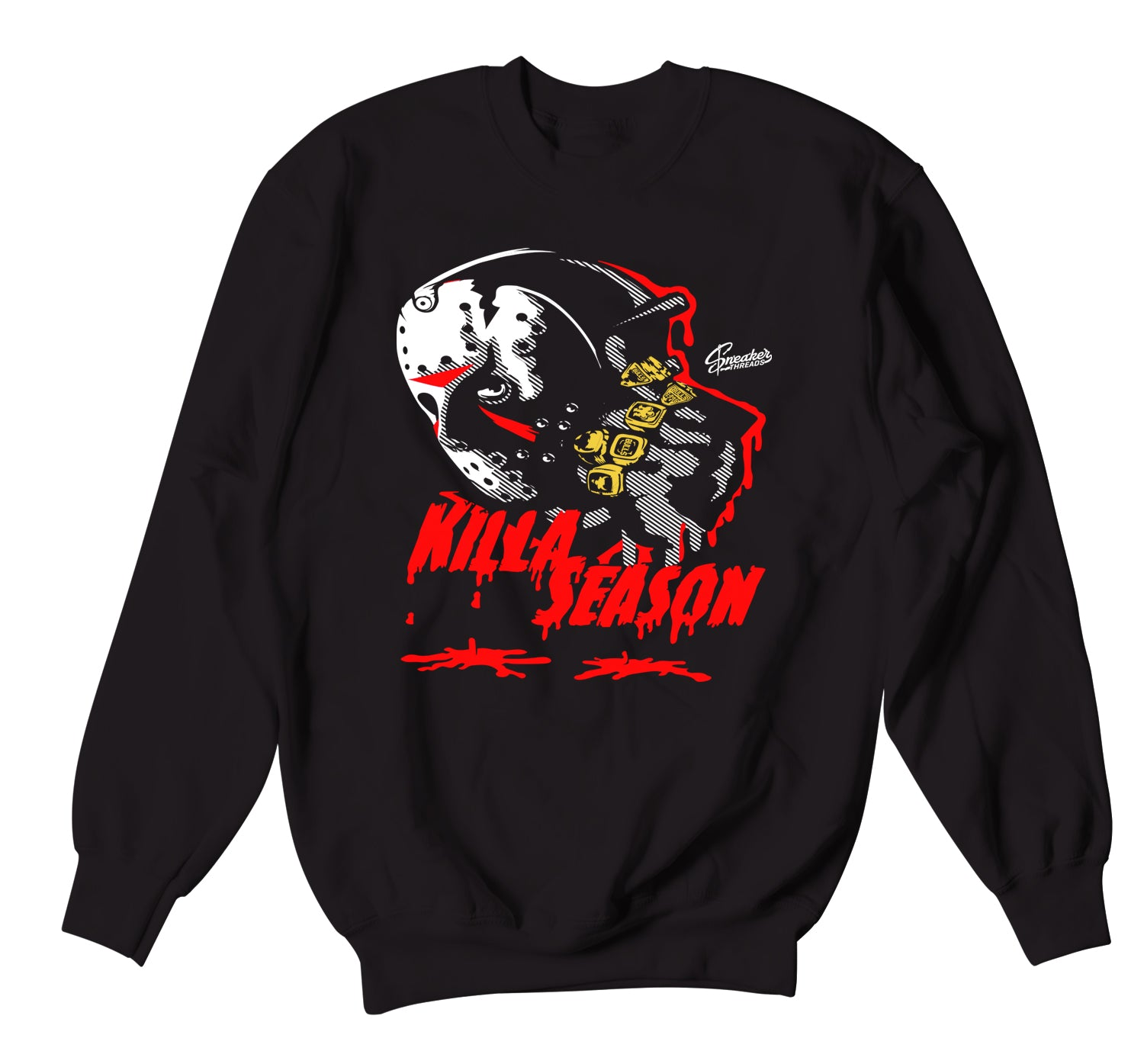 Jordan 12 Super Bowl Sweater - Killa Season - Black